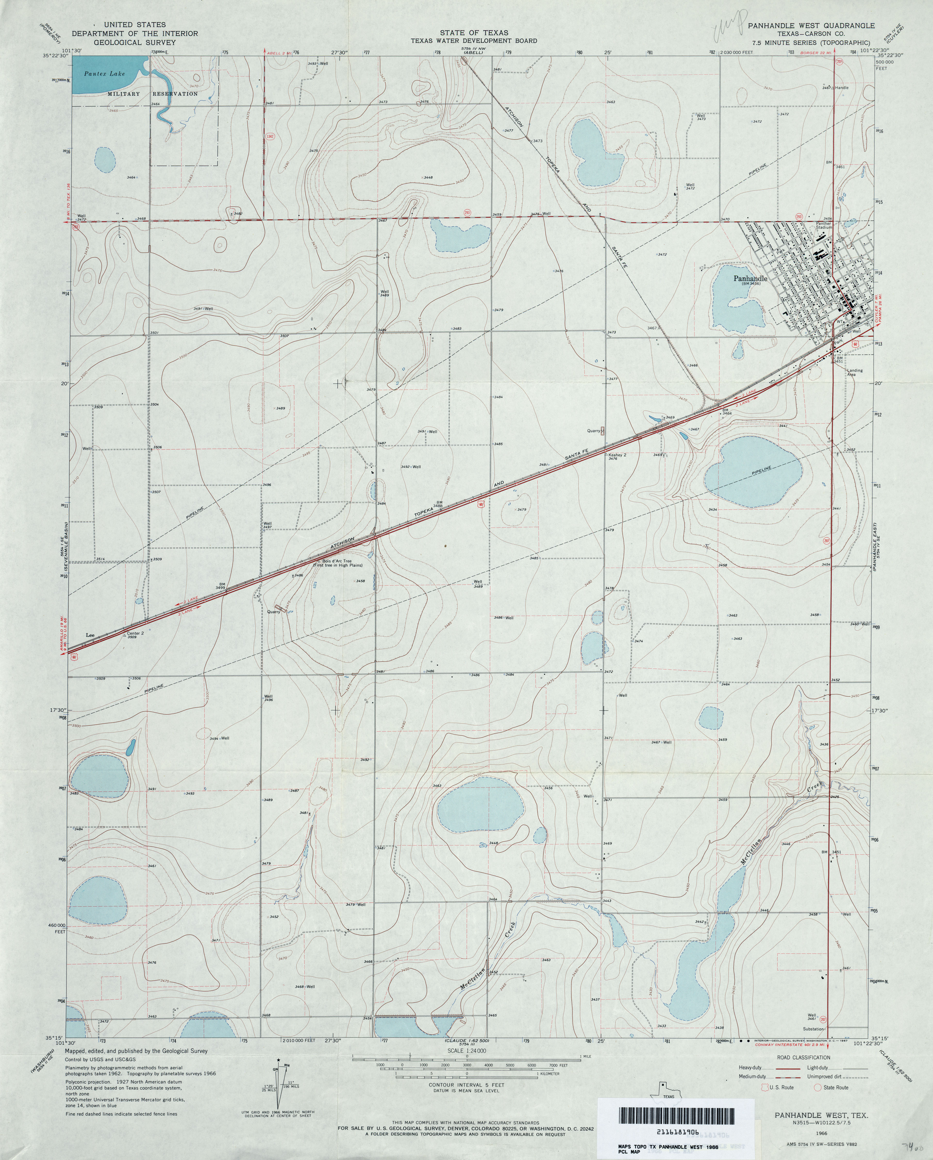 Texas Topographic Maps - Perry-Castañeda Map Collection - UT Library ...