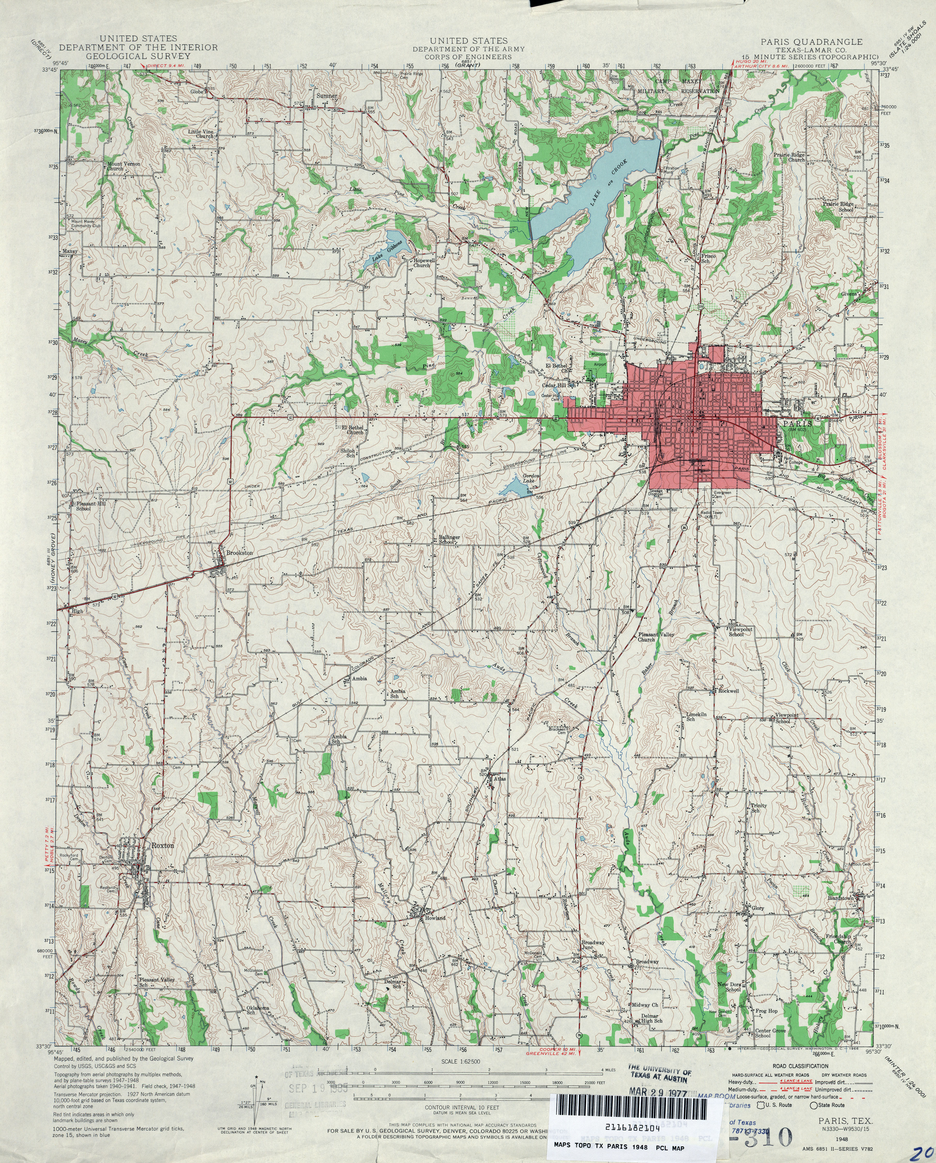 Texas Topographic Maps - Perry-Castañeda Map Collection - UT ...