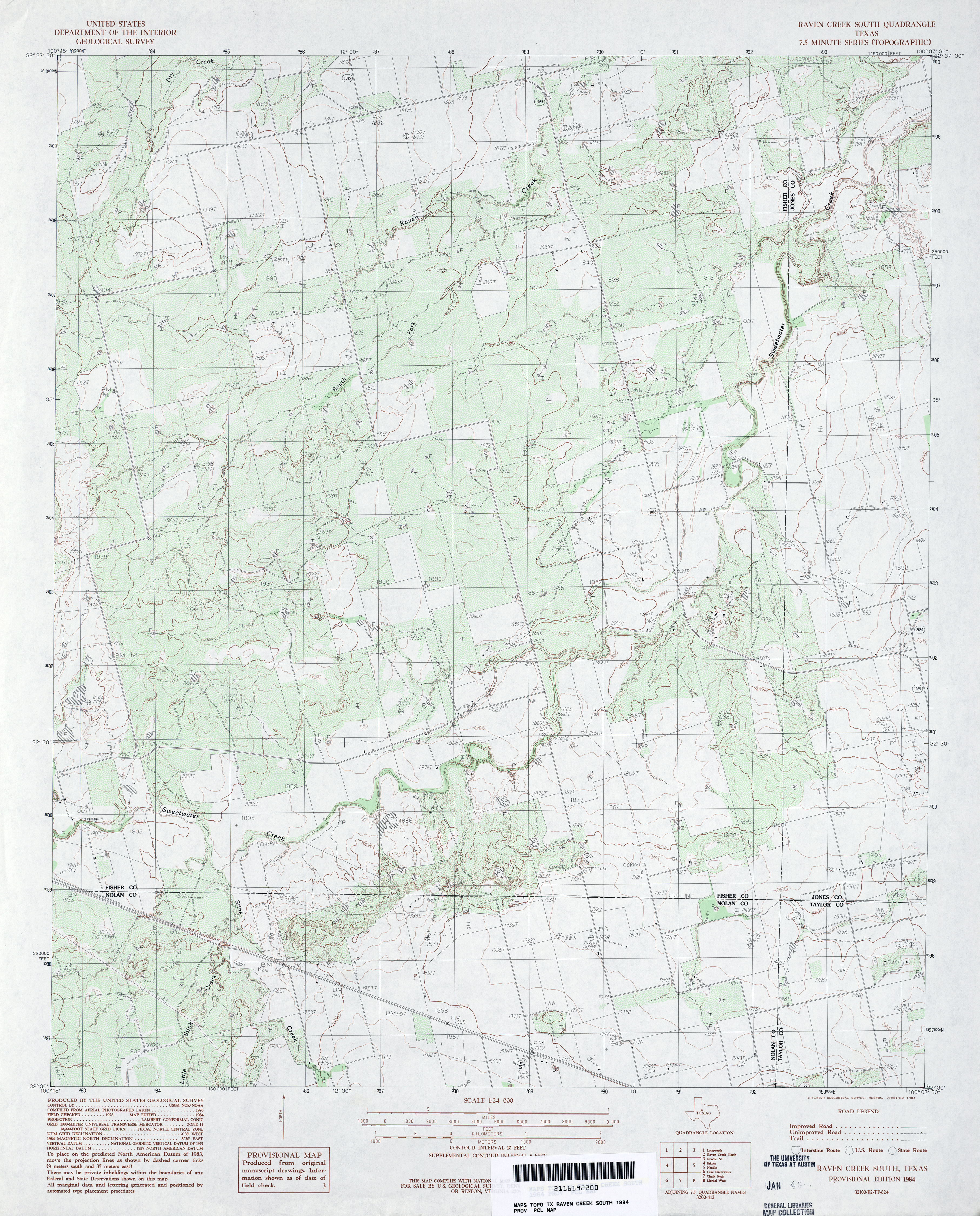 Texas Topographic Maps Perrycastaneda Map Collection Ut Us Road Map For Sale