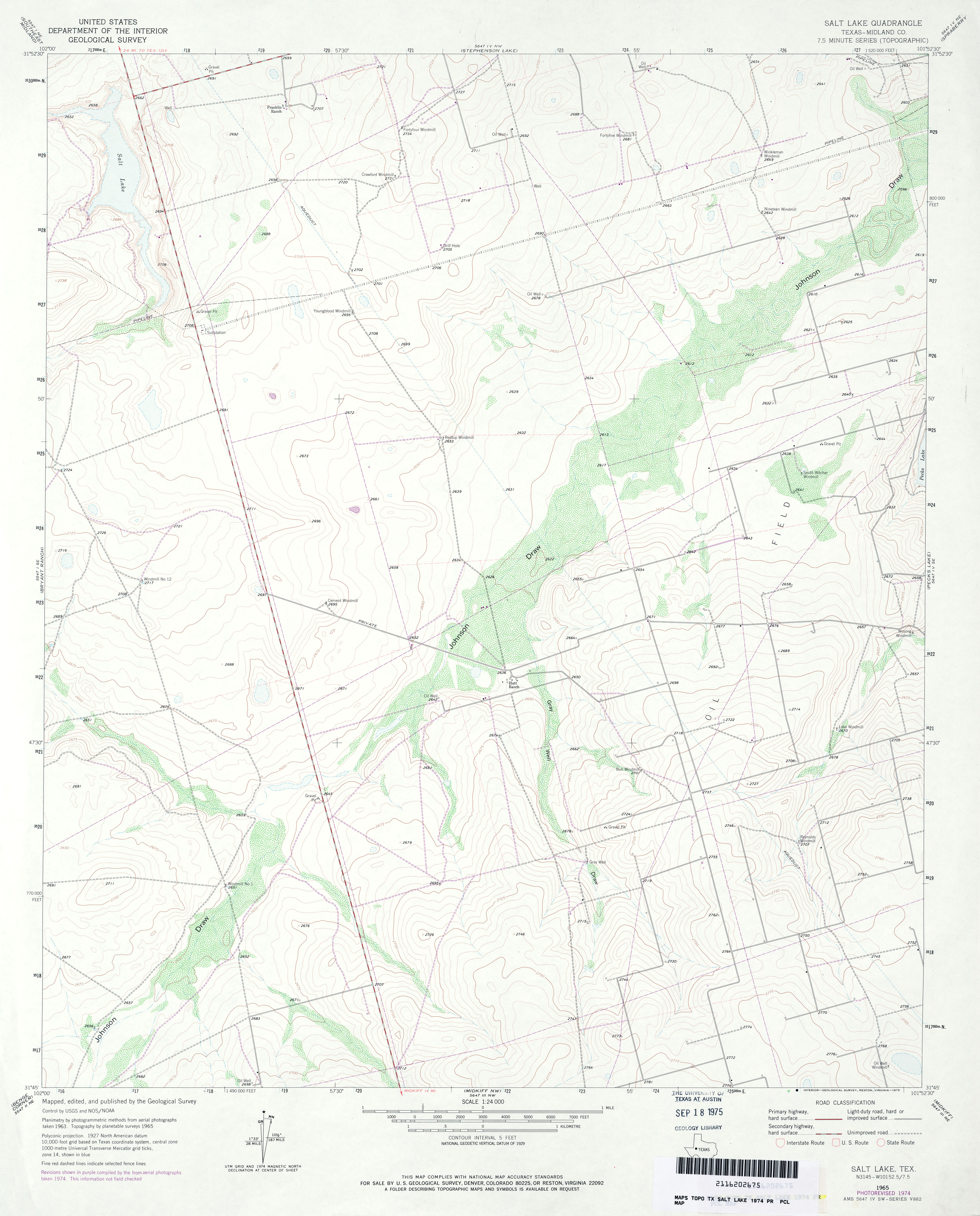 Map Of Texas Midland.Texas Topographic Maps Perry Castaneda Map Collection Ut Library