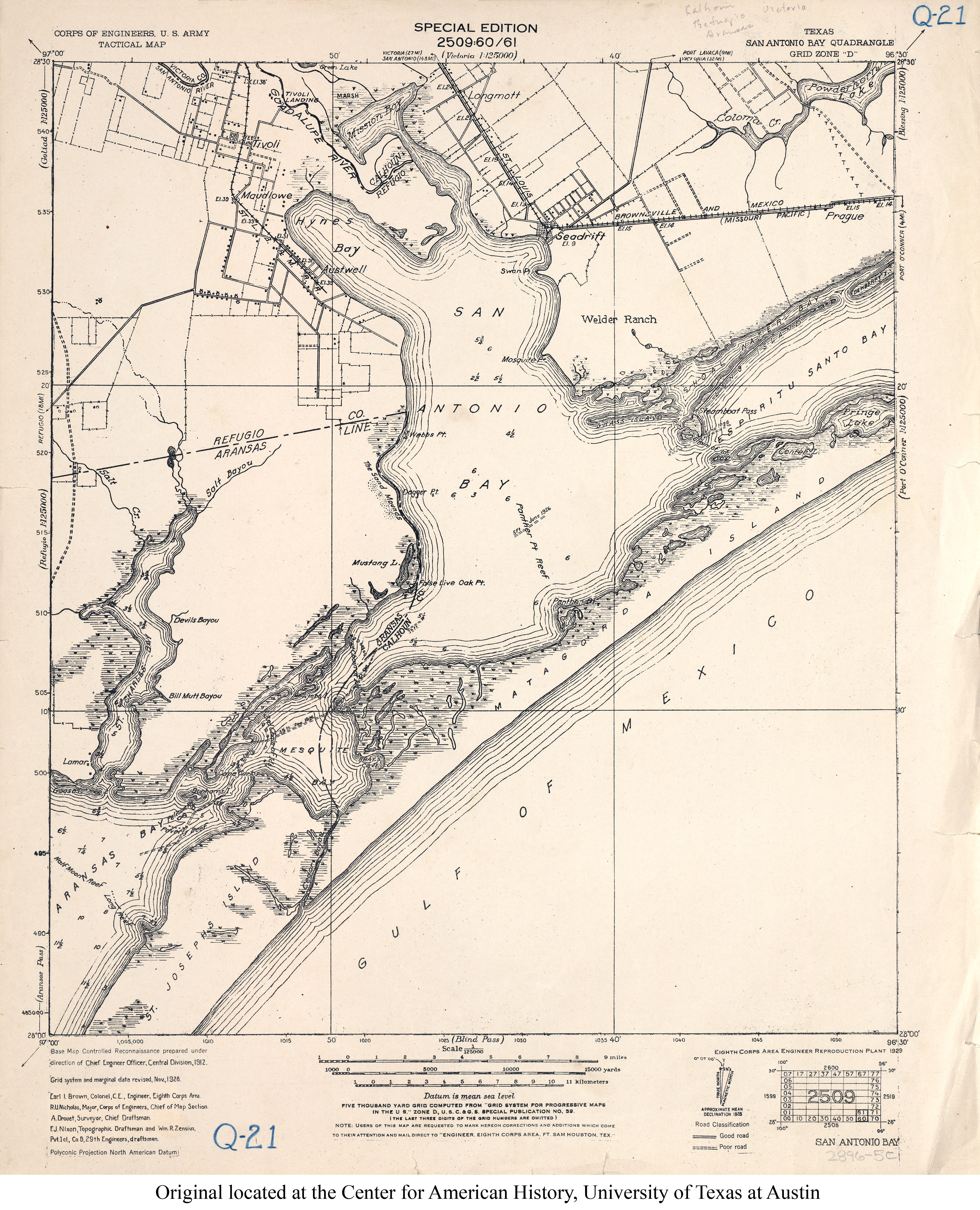 Texas Topographic Maps PerryCastañeda Map Collection UT - Us corps of engineers maps