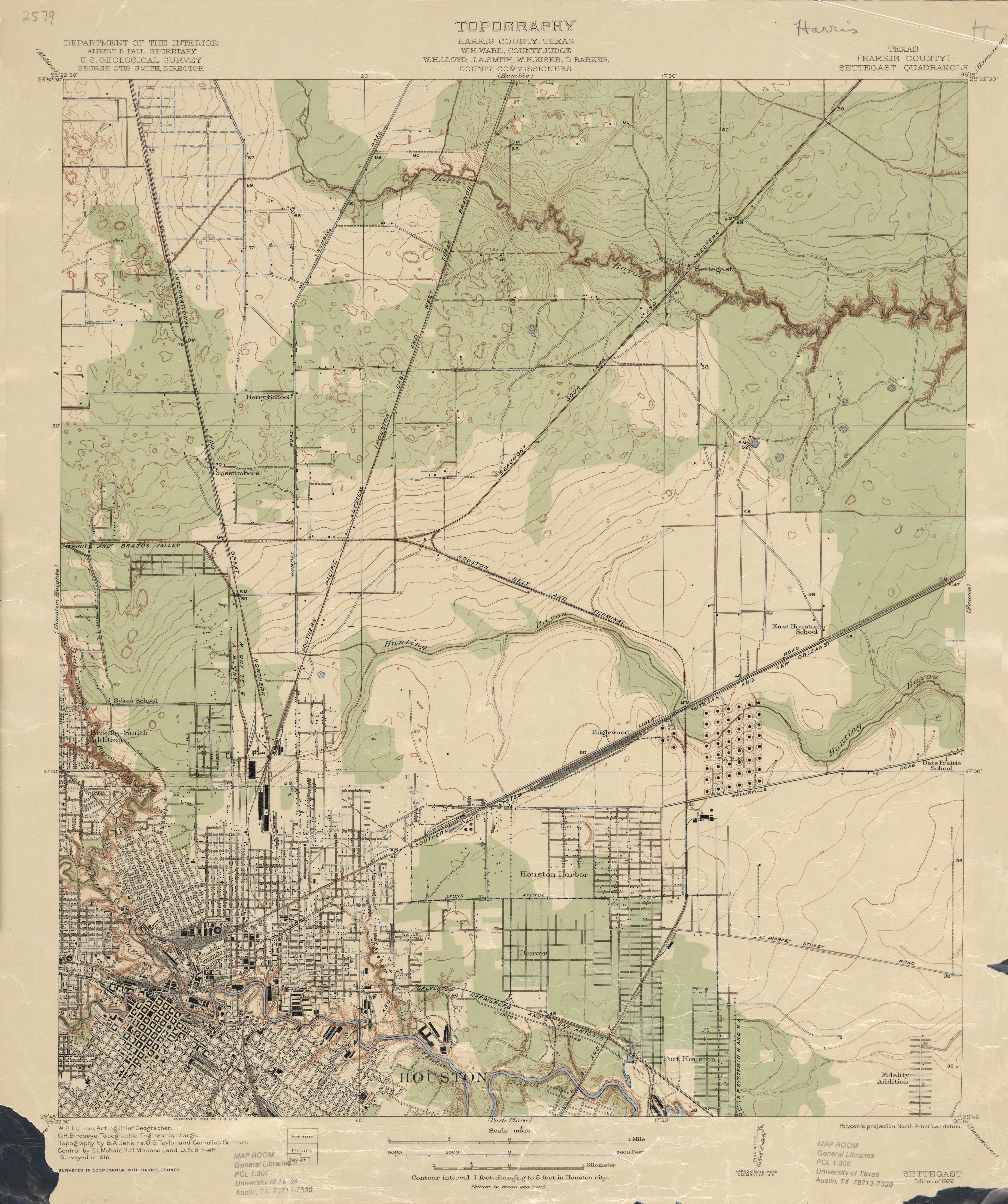 Old Houston Maps Houston Past