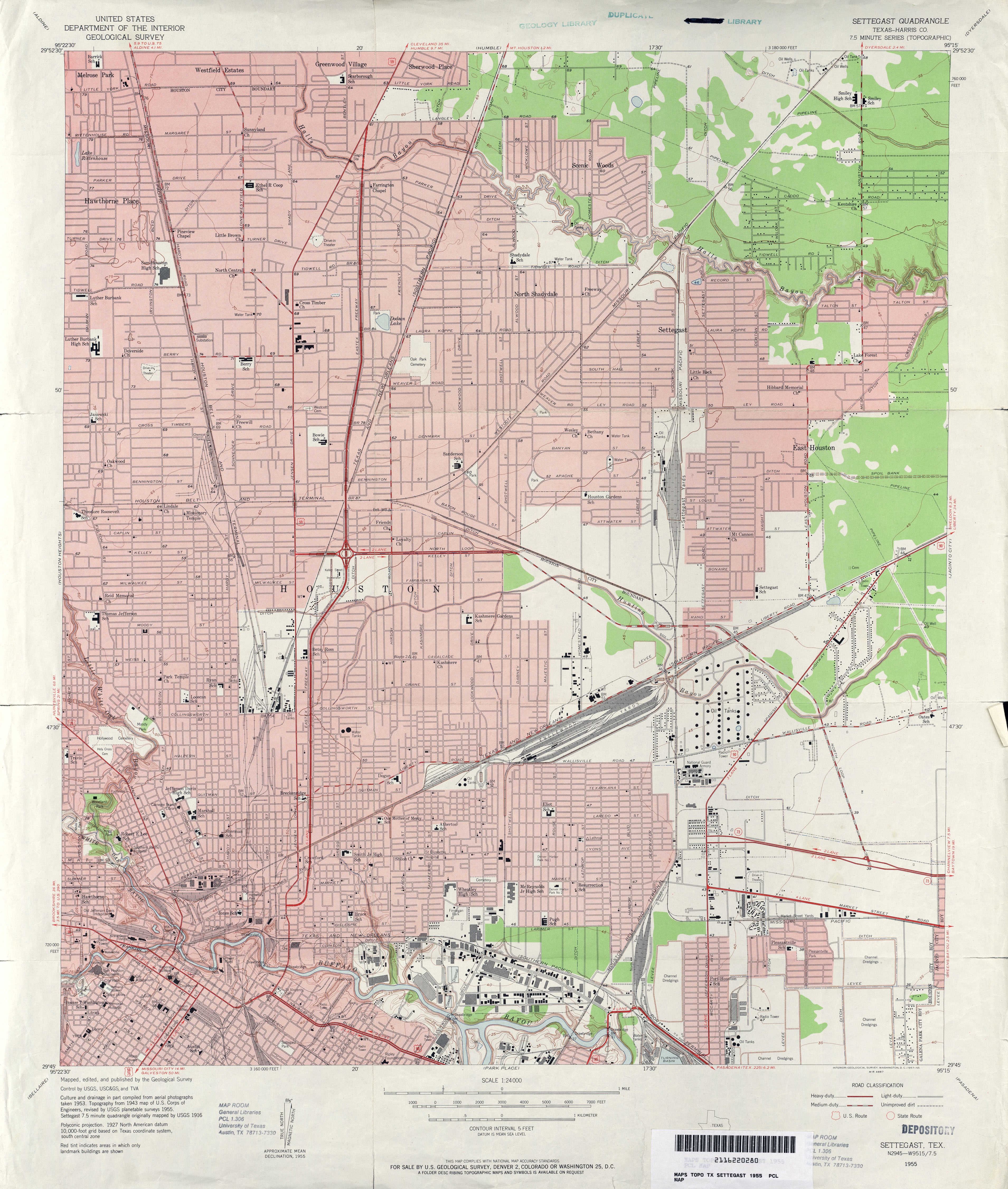 Old Houston Maps Houston Past - Us map houston
