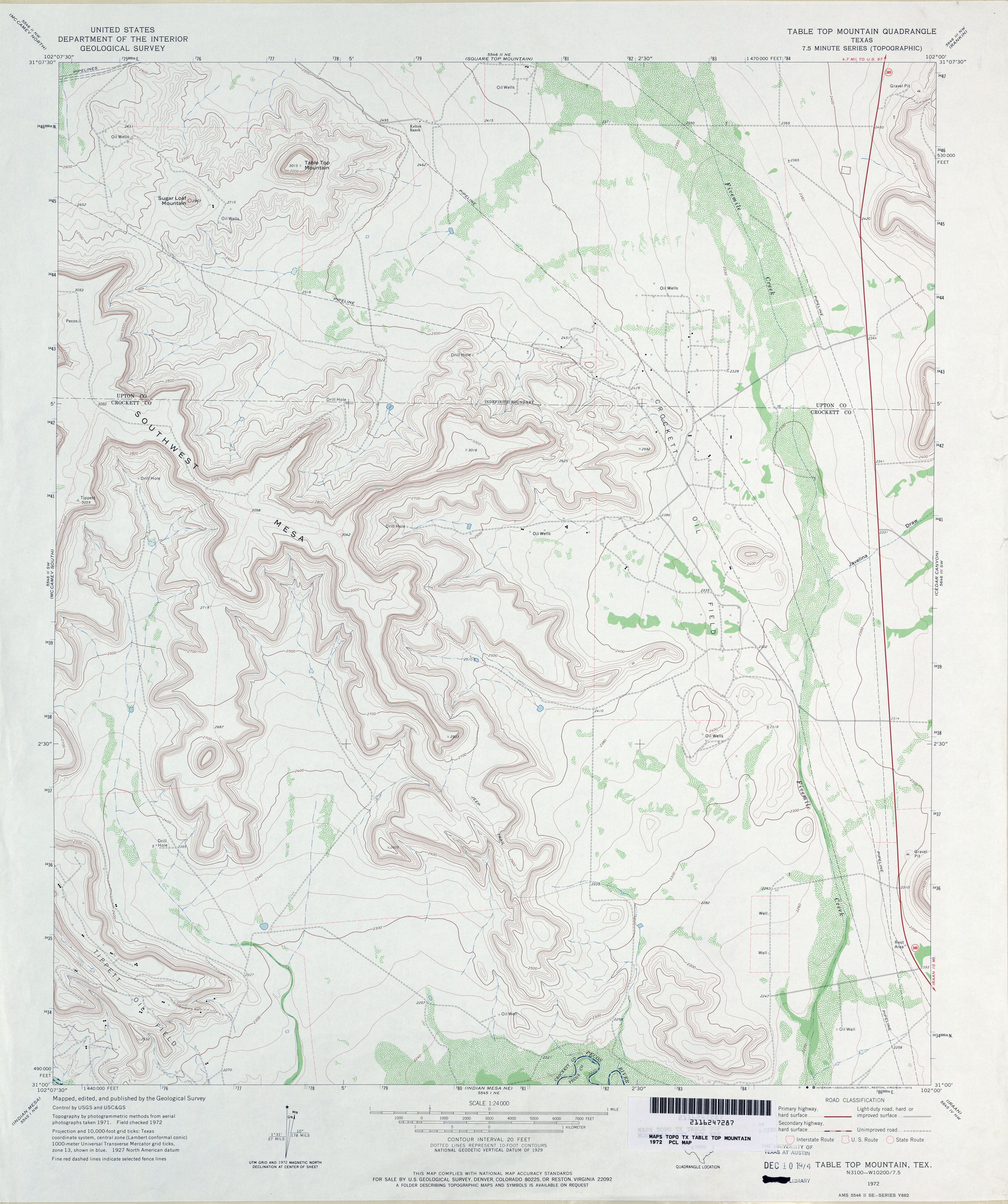 Texas topographic maps perry castaeda map collection ut library texas topographic maps publicscrutiny Choice Image