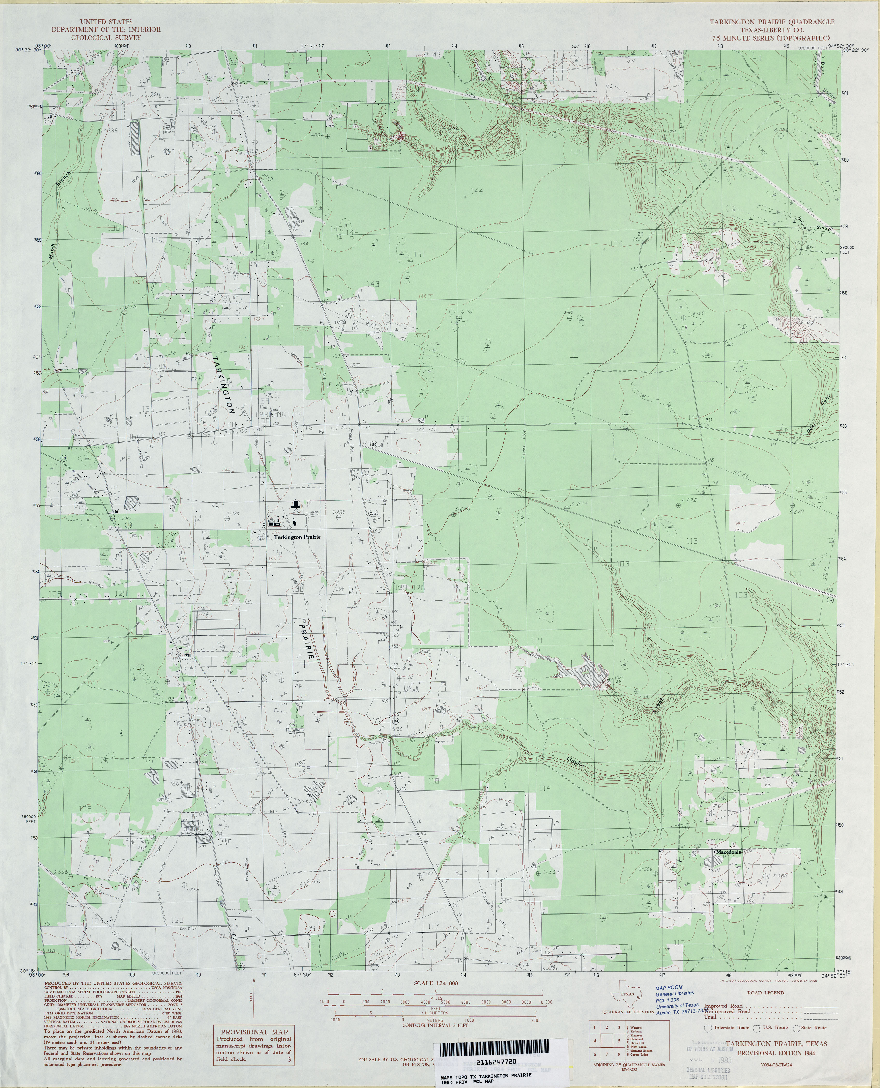 Texas Topographic Maps PerryCastañeda Map Collection UT - Original prairie areas in the us map