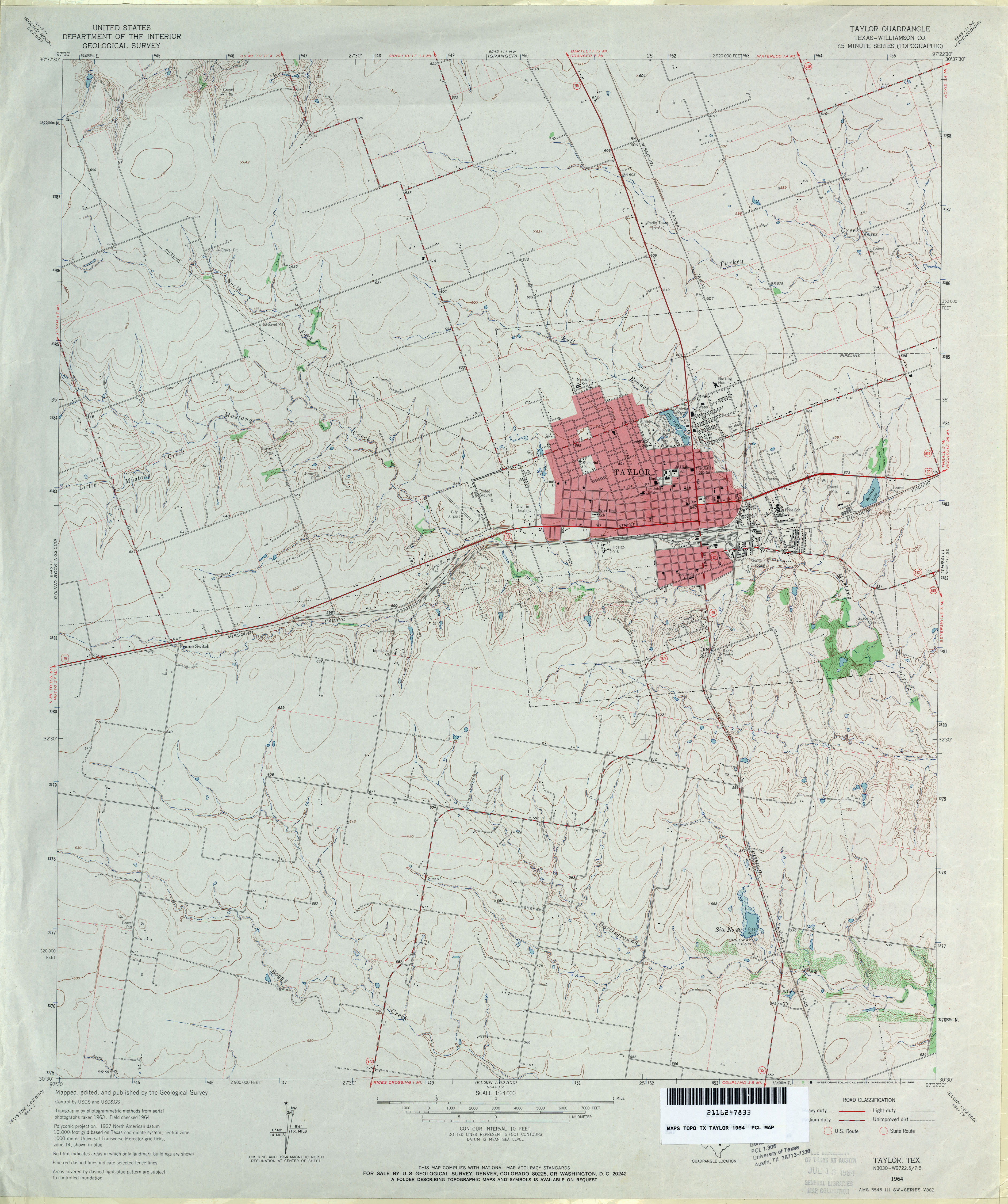 Texas Topographic Maps PerryCastañeda Map Collection UT - Map of tex
