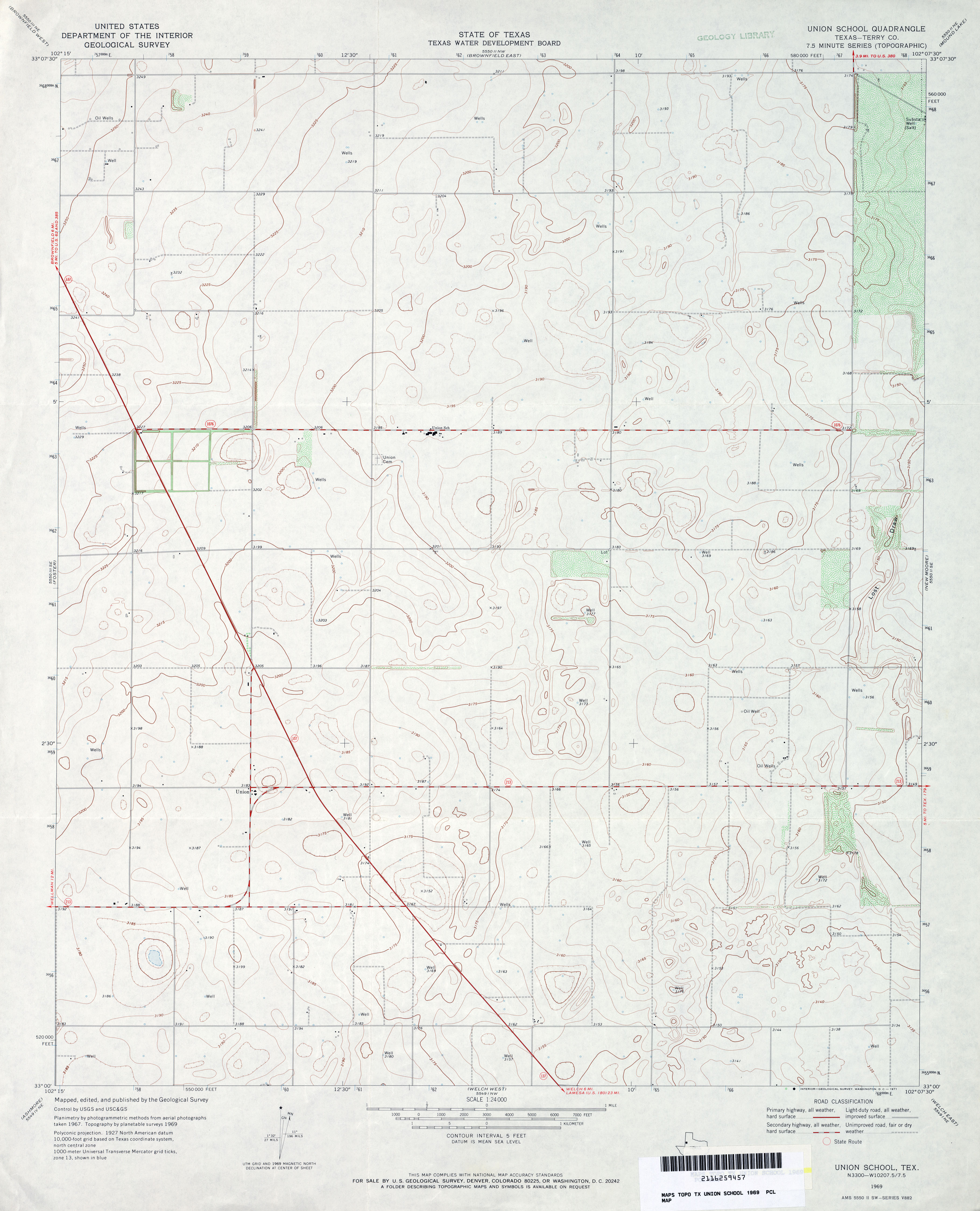 Texas topographic maps perry castaeda map collection ut texas topographic maps buycottarizona Image collections