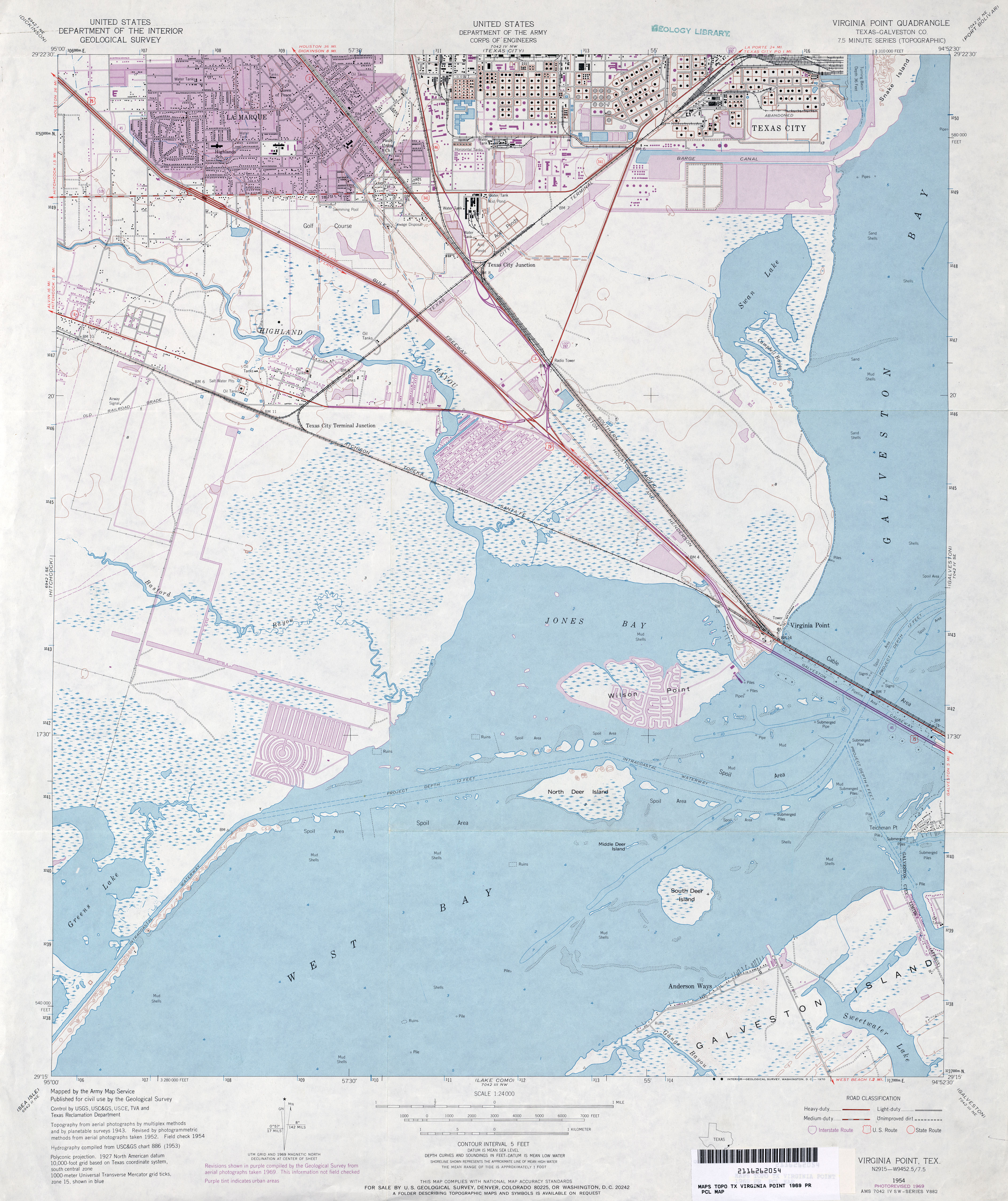 Texas Topographic Maps - Perry-Castañeda Map Collection - UT ... on