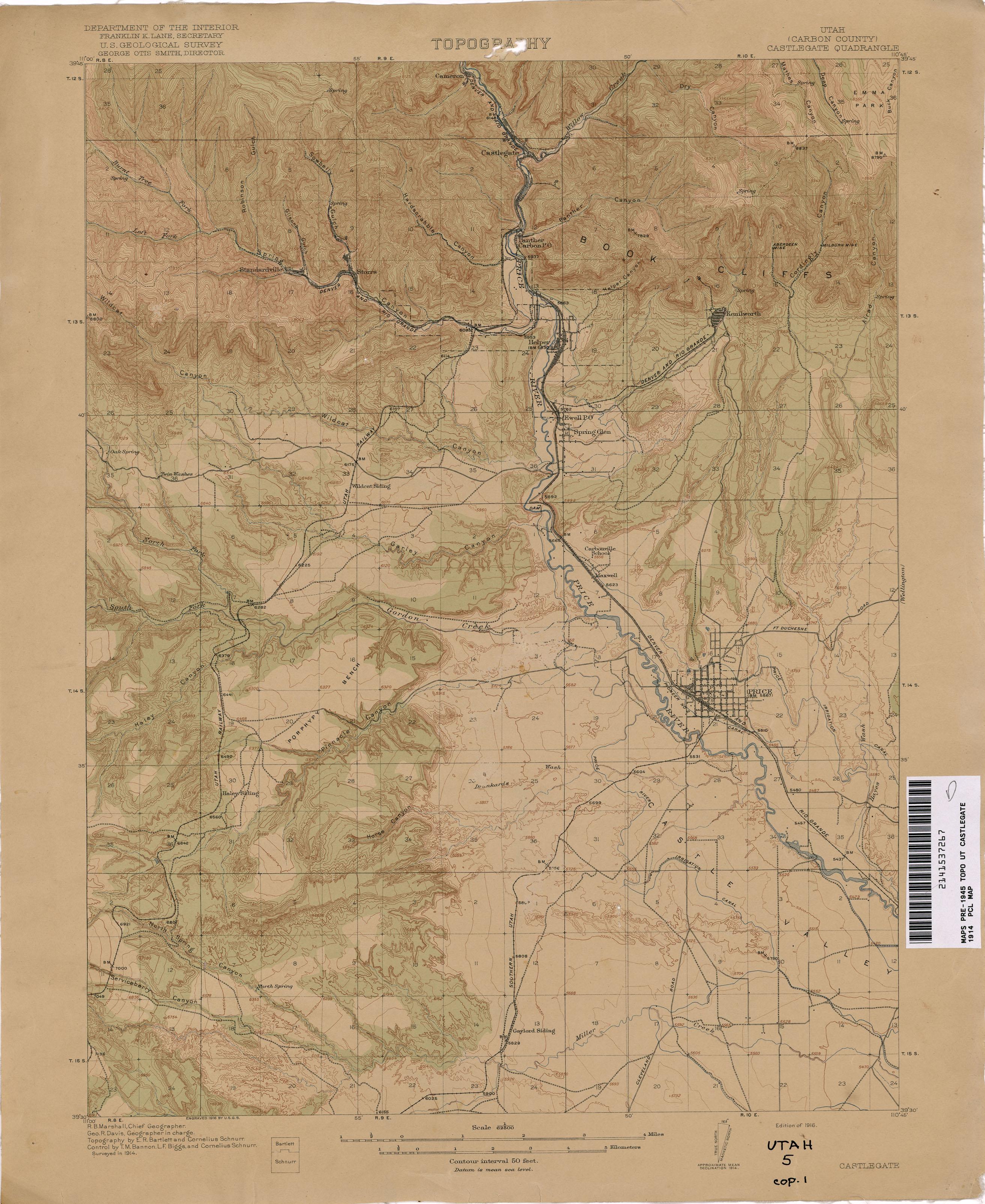 Utah Historical Topographic Maps - Perry-Castañeda Map Collection on riverton utah, spanish fork utah, santorini village south jordan utah, murray utah, taylorsville utah,
