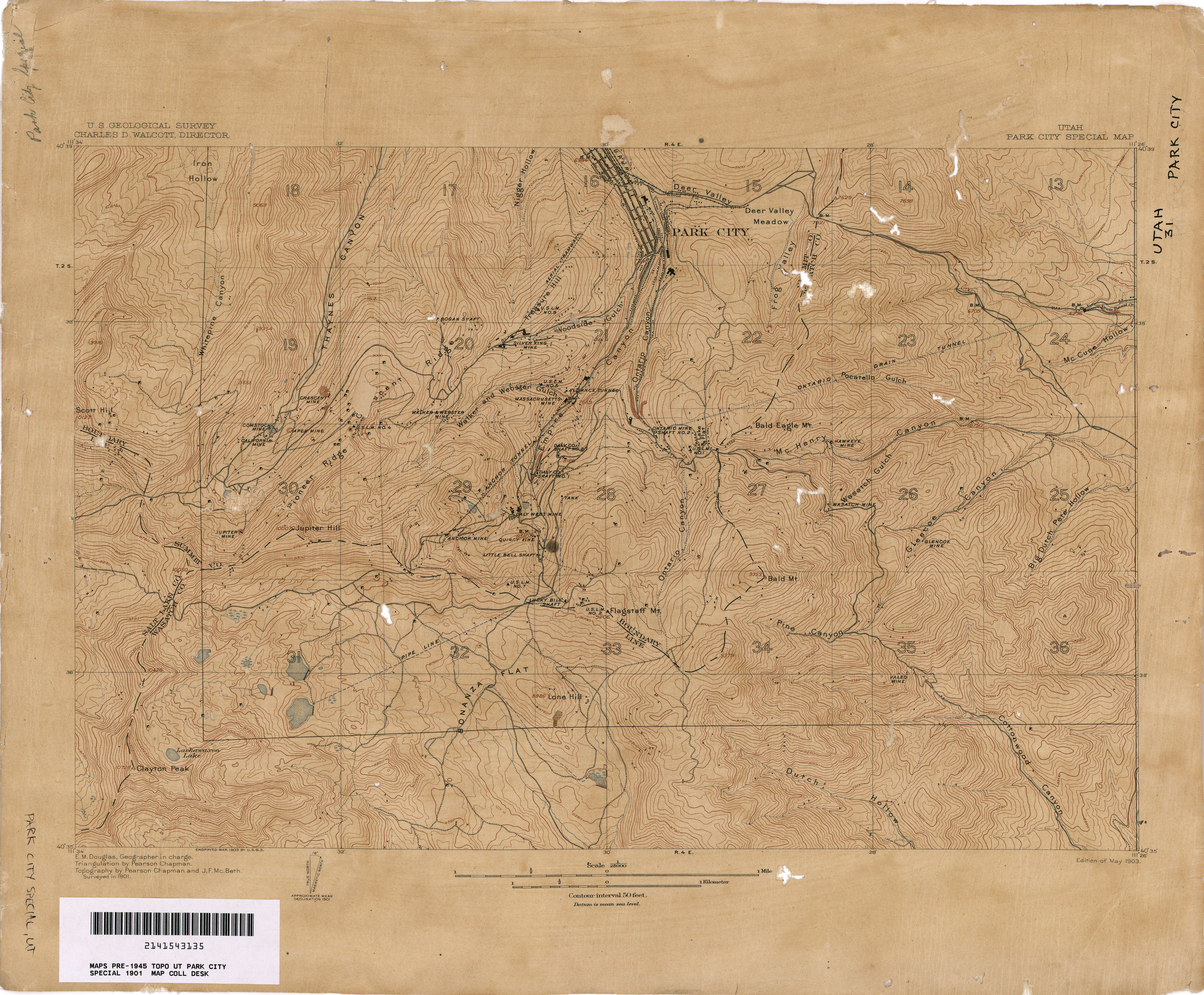 Marysvale Utah Map.Utah Historical Topographic Maps Perry Castaneda Map Collection