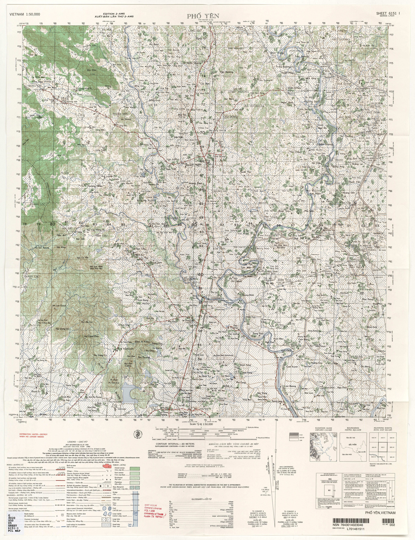 Vietnam Topographic Maps PerryCastañeda Map Collection UT - Map us 1