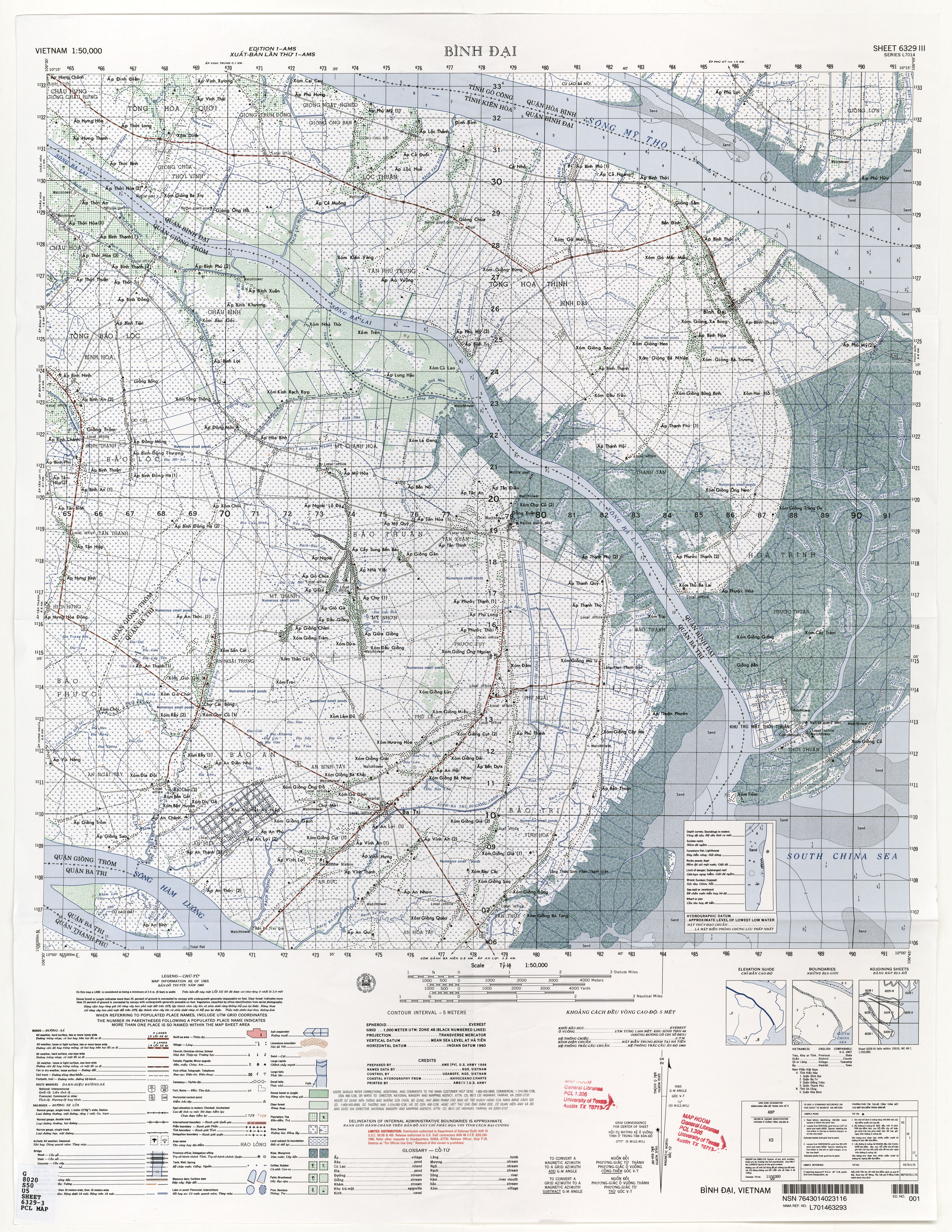 Vietnam Topographic Maps - Perry-Castañeda Map Collection