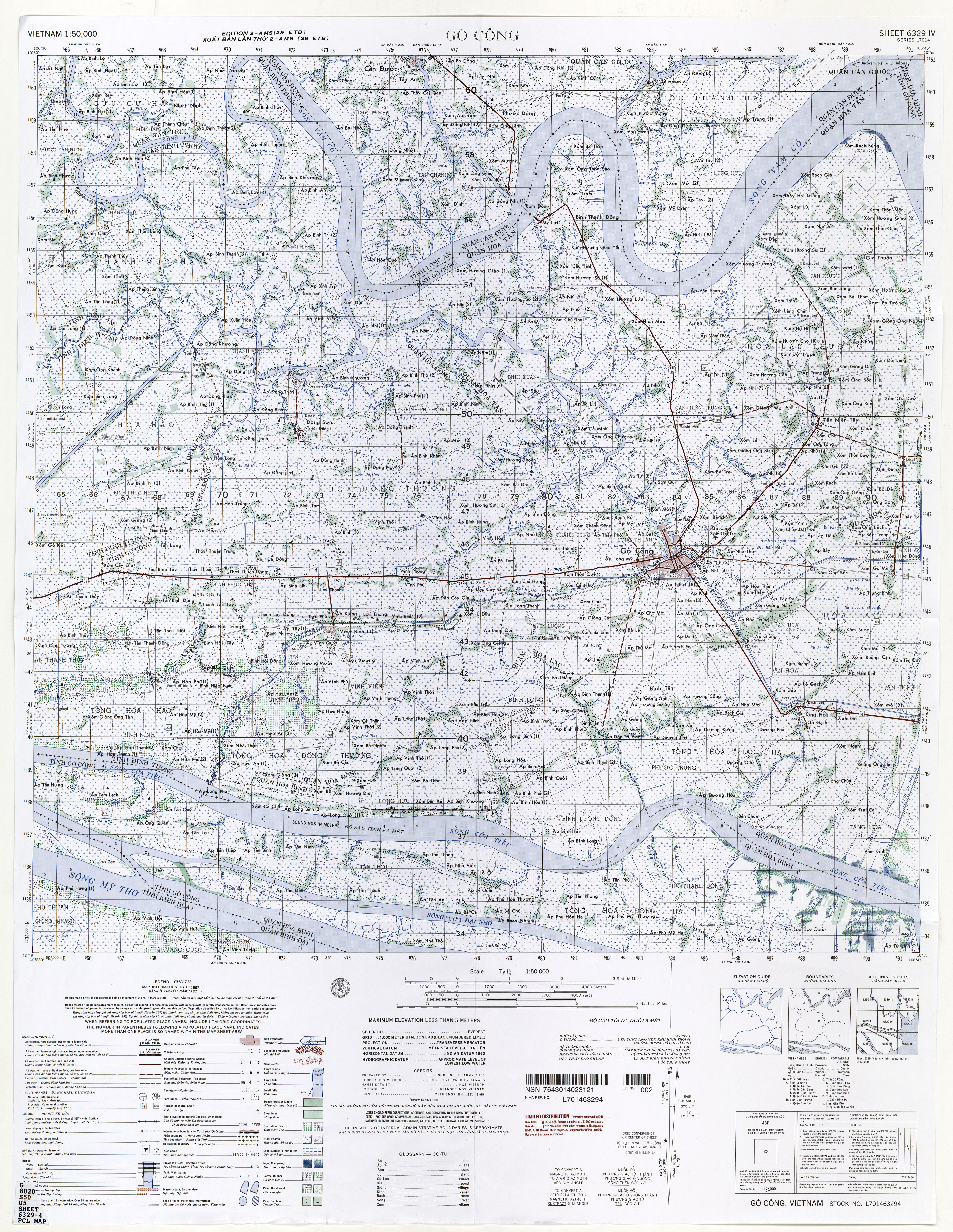 Vietnam Topographic Maps Perrycastaneda Map Collection Ut Us Army Maps