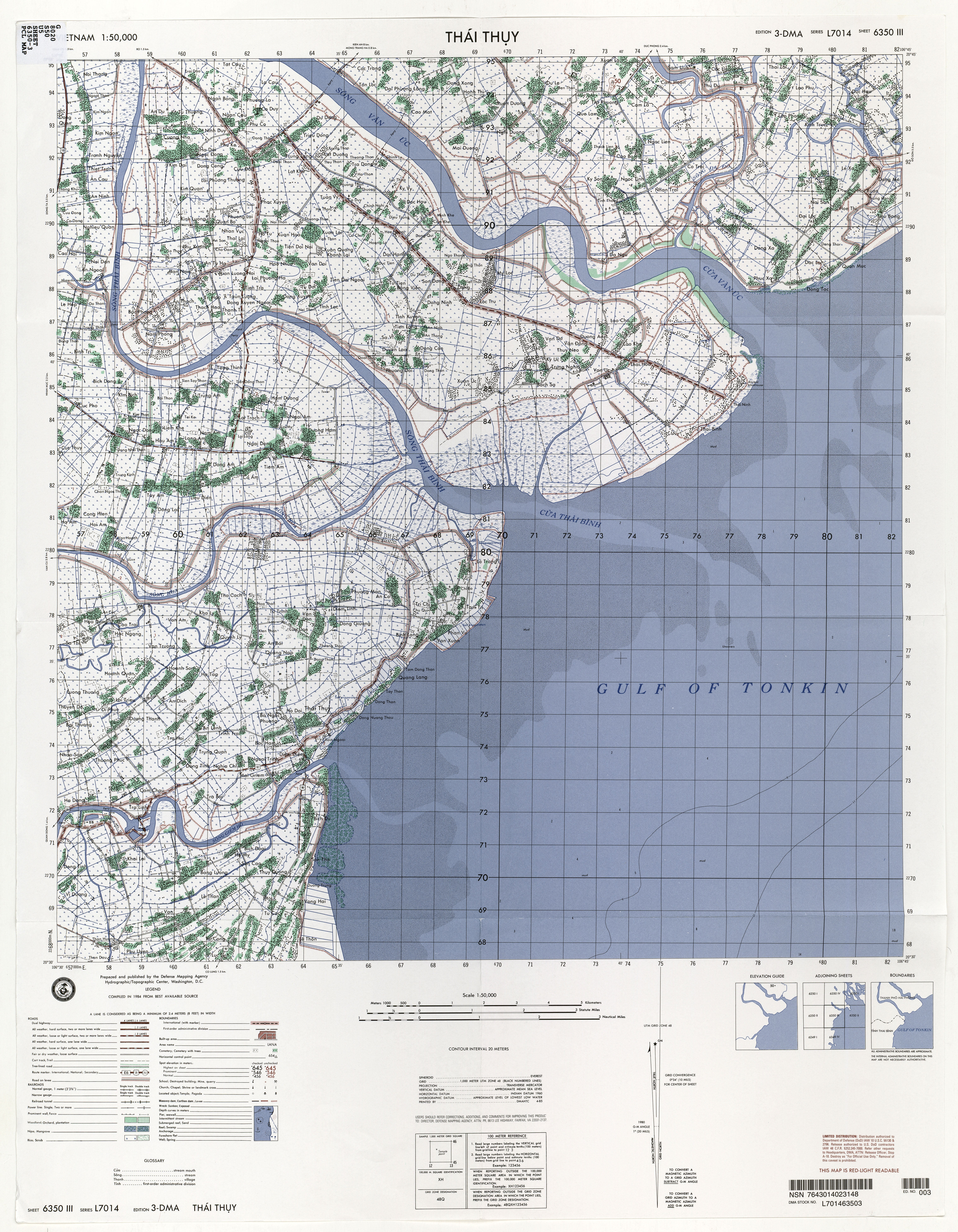 Topographic Sheet 6350 3 1 50 000 U S Defense Mapping Agency 1984 8 7mb Jpeg