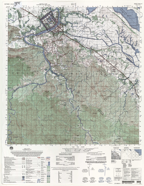 Vietnam Topographic Maps - Perry-Castañeda Map Collection ... on latitude map of vietnam, relief map of vietnam, climate map of vietnam, population density map of vietnam,