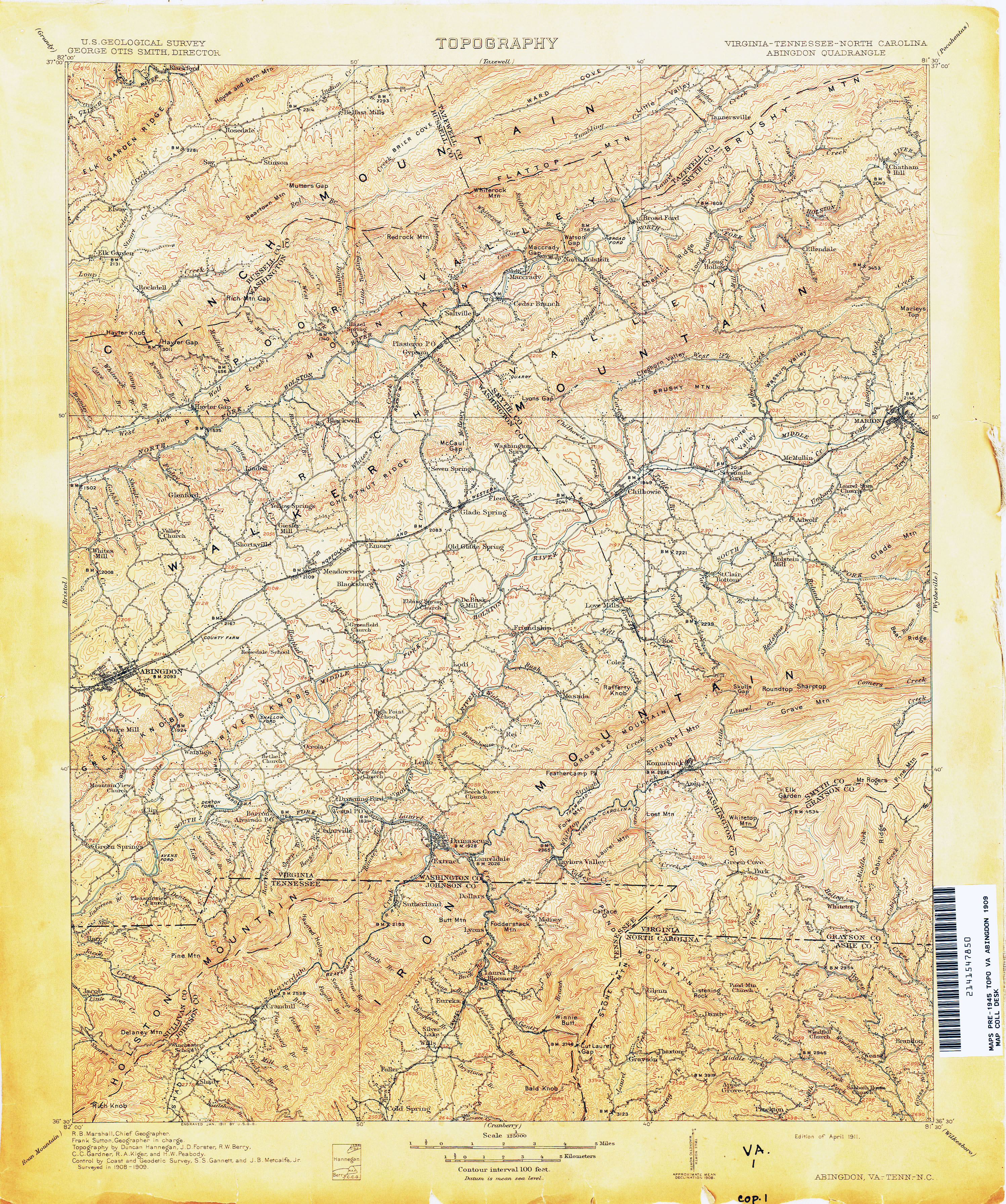 Tennesse Historical Topographic Maps Perry Castaneda Map