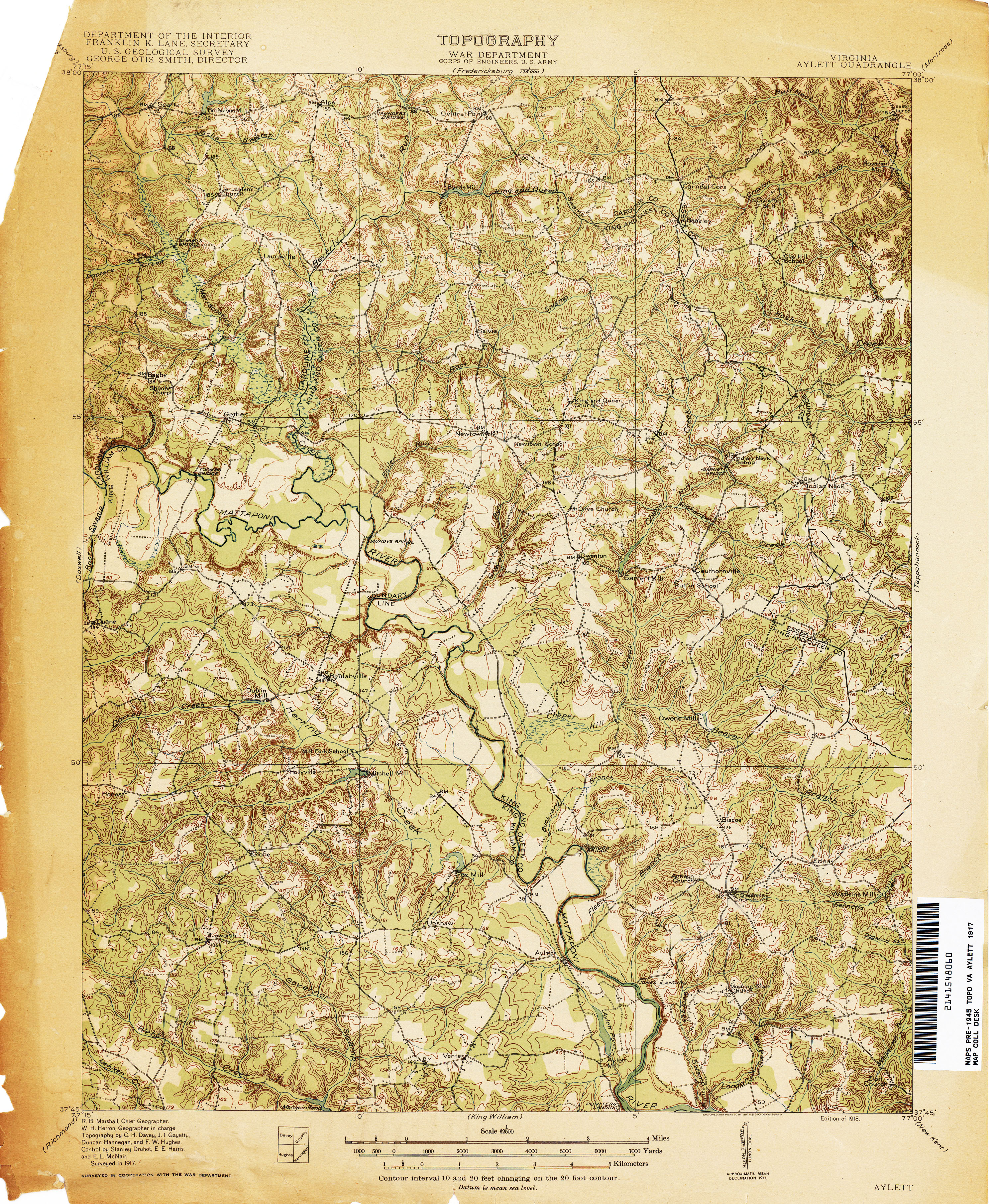 Virginia Historical Topographic Maps PerryCastañeda Map - Us geological topographic maps