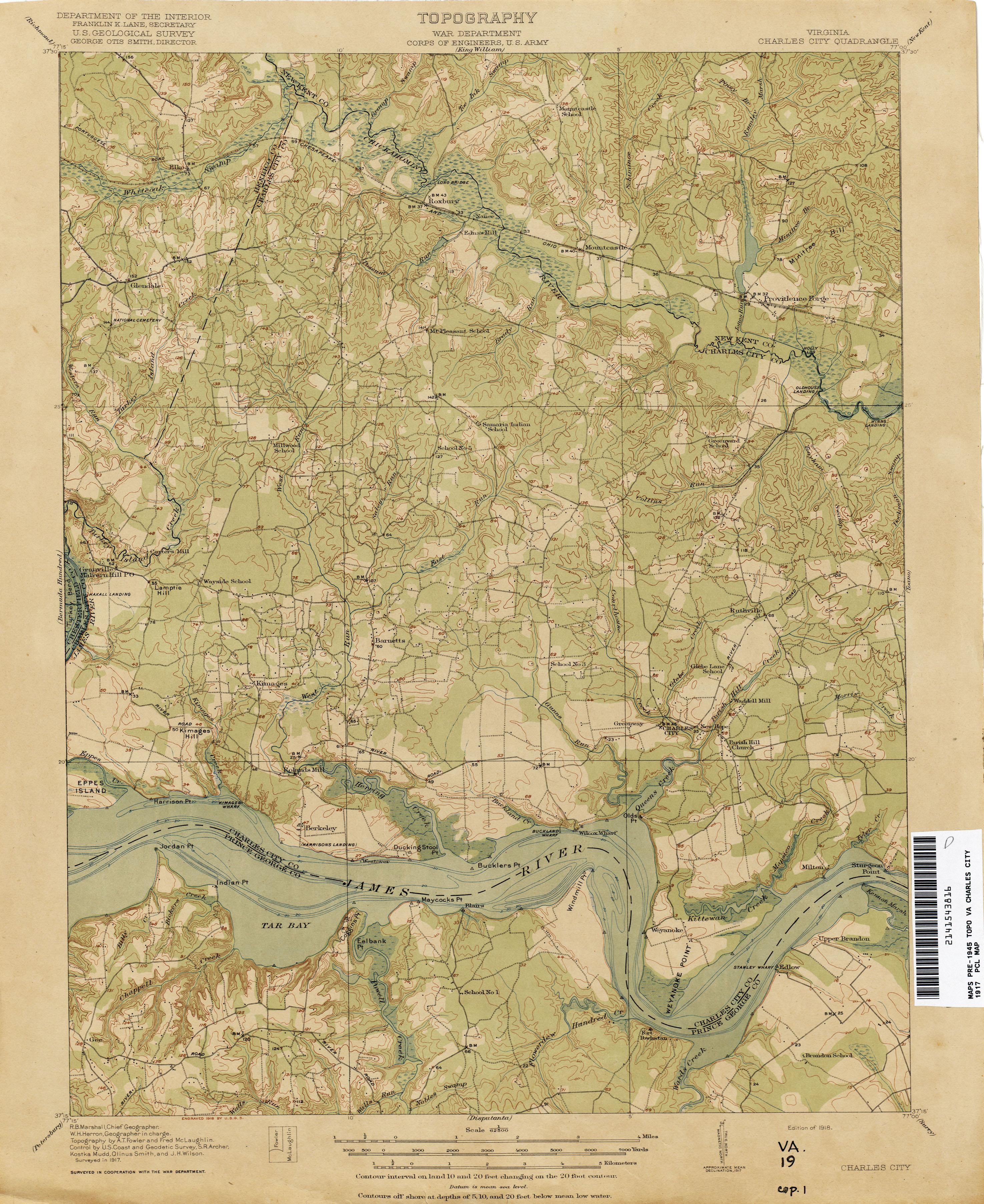 Historic Topographic Maps Of Virginia
