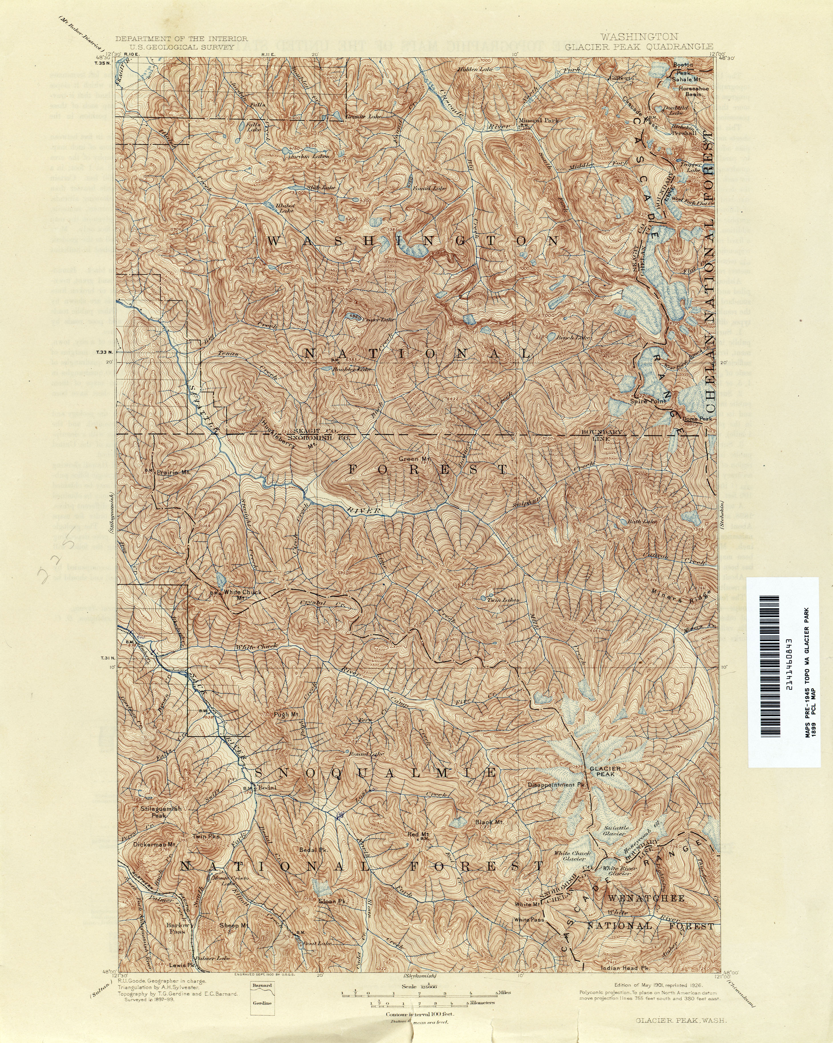 Washington Historical Topographic Maps PerryCastañeda Map - Eastern us topographic map