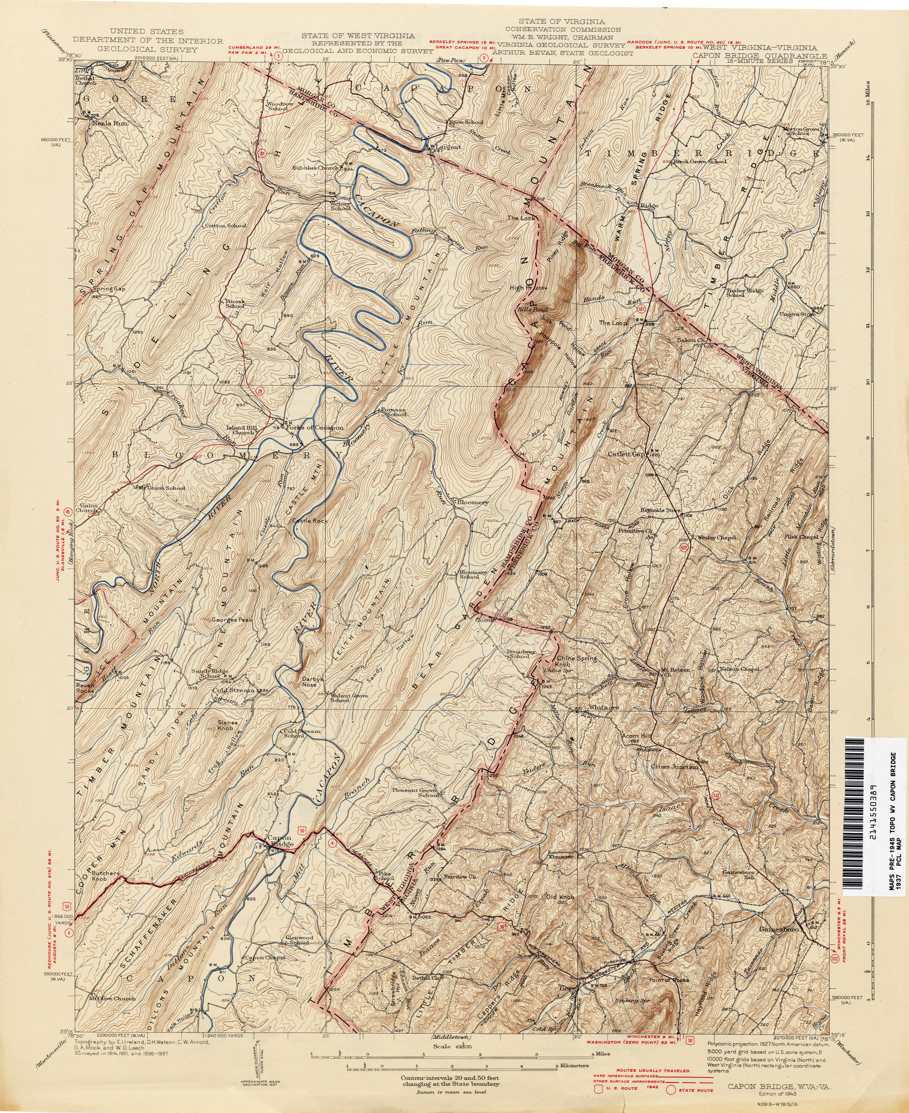 West Virginia Historical Topographic Maps Perry Castaneda Map Collection Ut Library Online