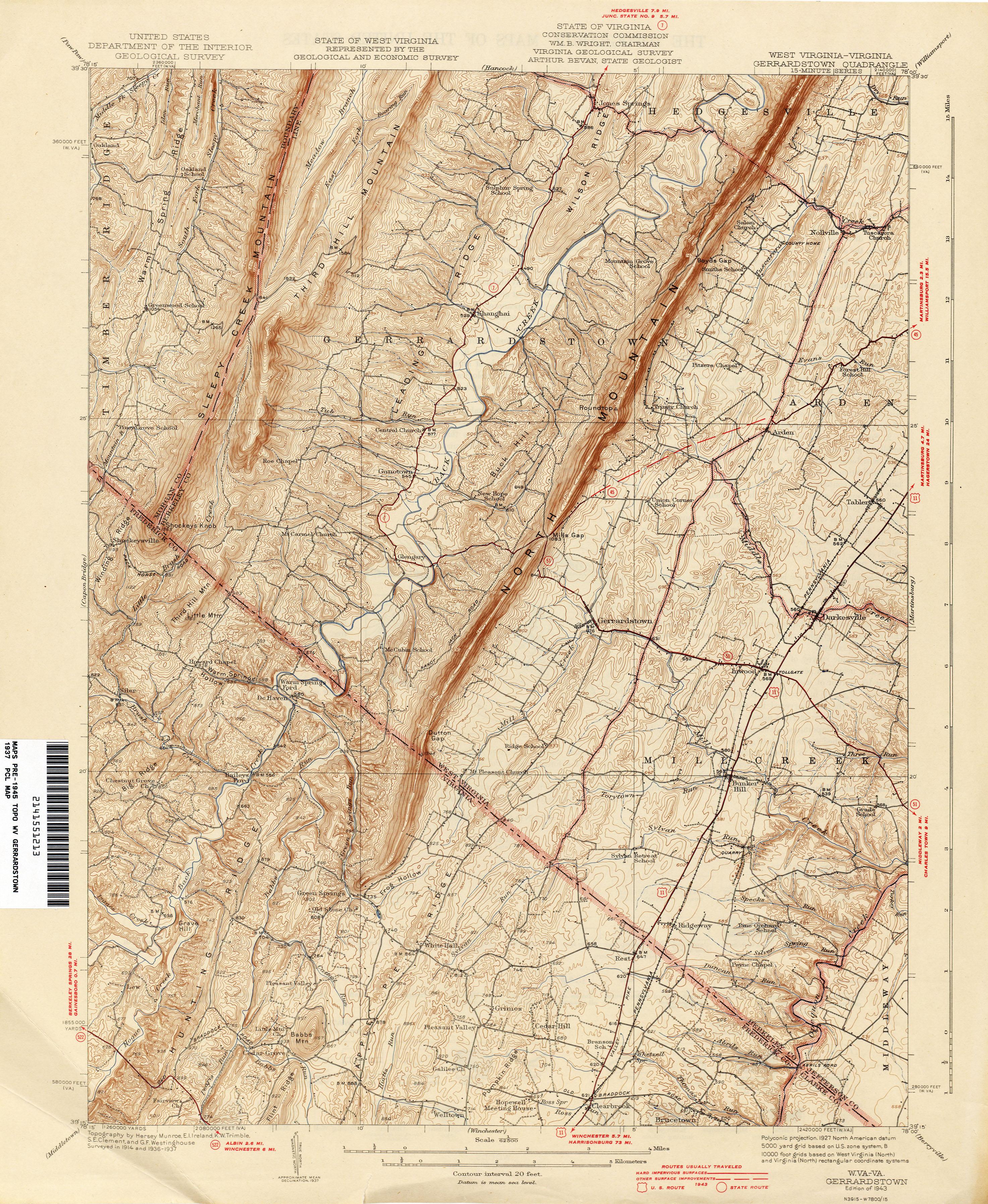 Virginia Historical Topographic Maps - Perry-Castañeda Map ... on bandy va map, kents store va map, weyers cave va map, dyke va map, charles town va map, new york va map, steeles tavern va map, spotsylvania courthouse va map, paris va on map, stanleytown va map, the plains va map, rappahannock river va map, baileys crossroads va map, stanley va map, va state highway map, cana va map, clarke county va map, jefferson va map, claremont va map, birchleaf va map,