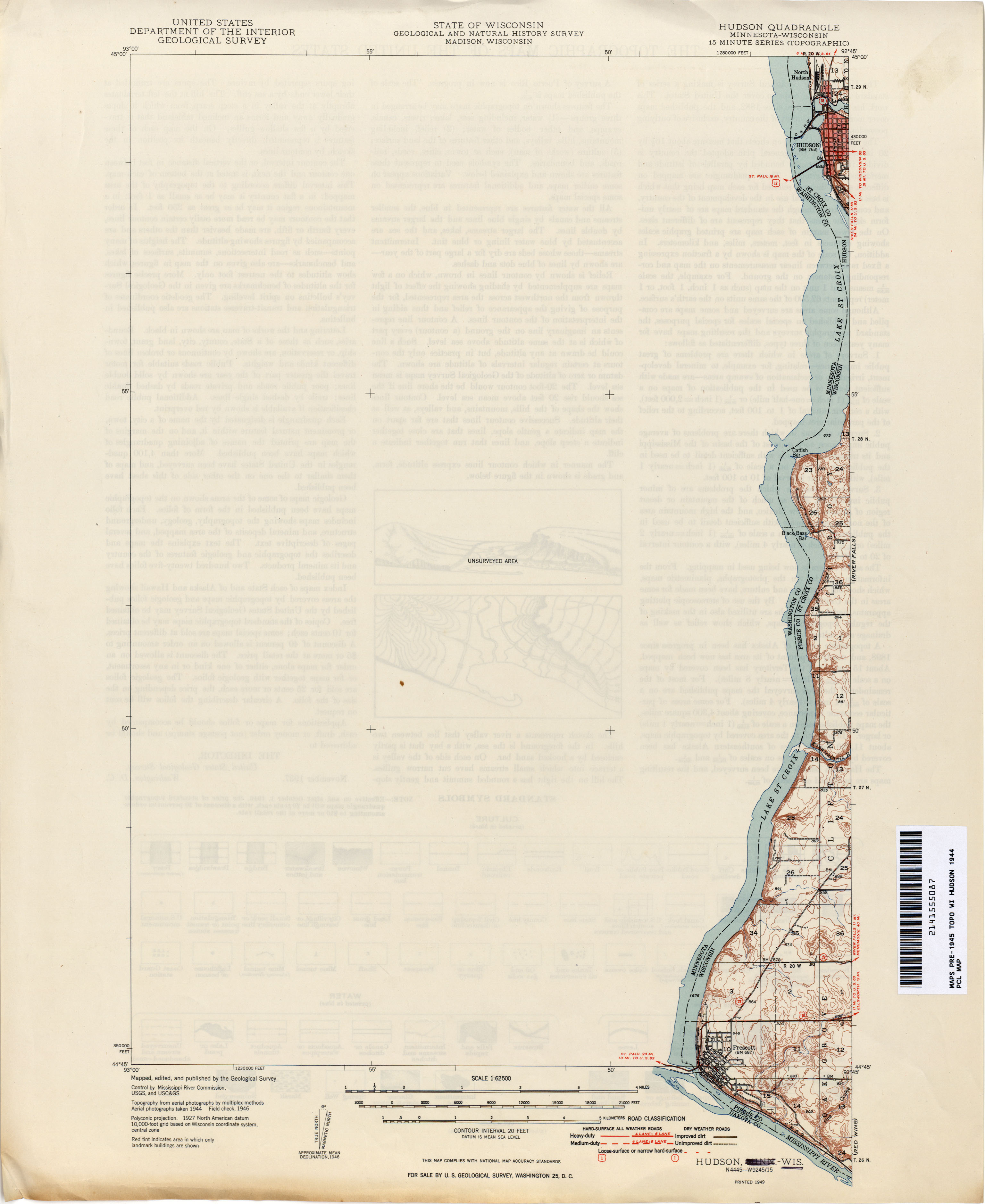 Historical Topographic Maps PerryCastañeda Map Collection UT - Wisconsin on us map