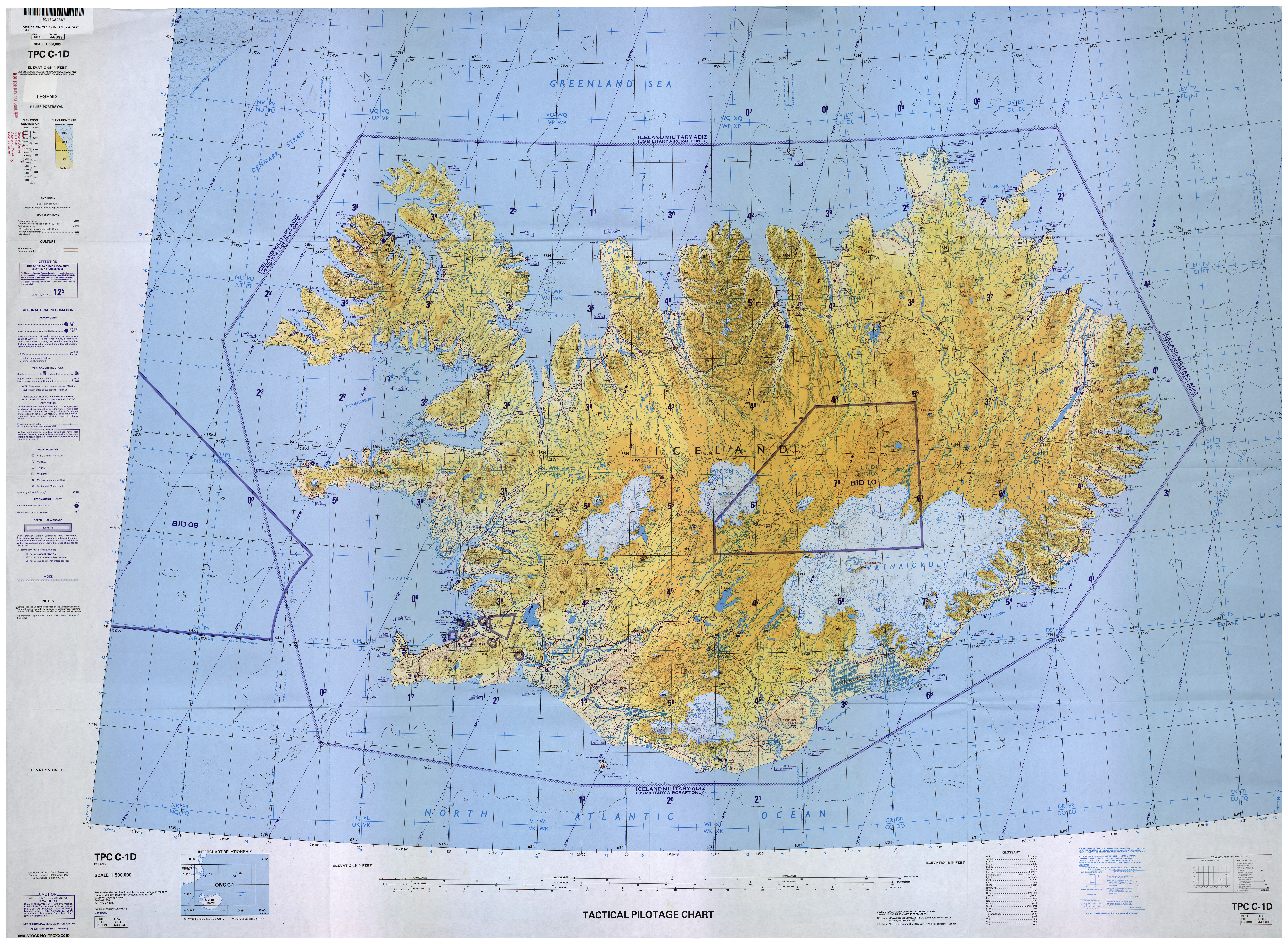 Tactical Pilotage Charts Perry Castaneda Map Collection Ut - Us-map-chart