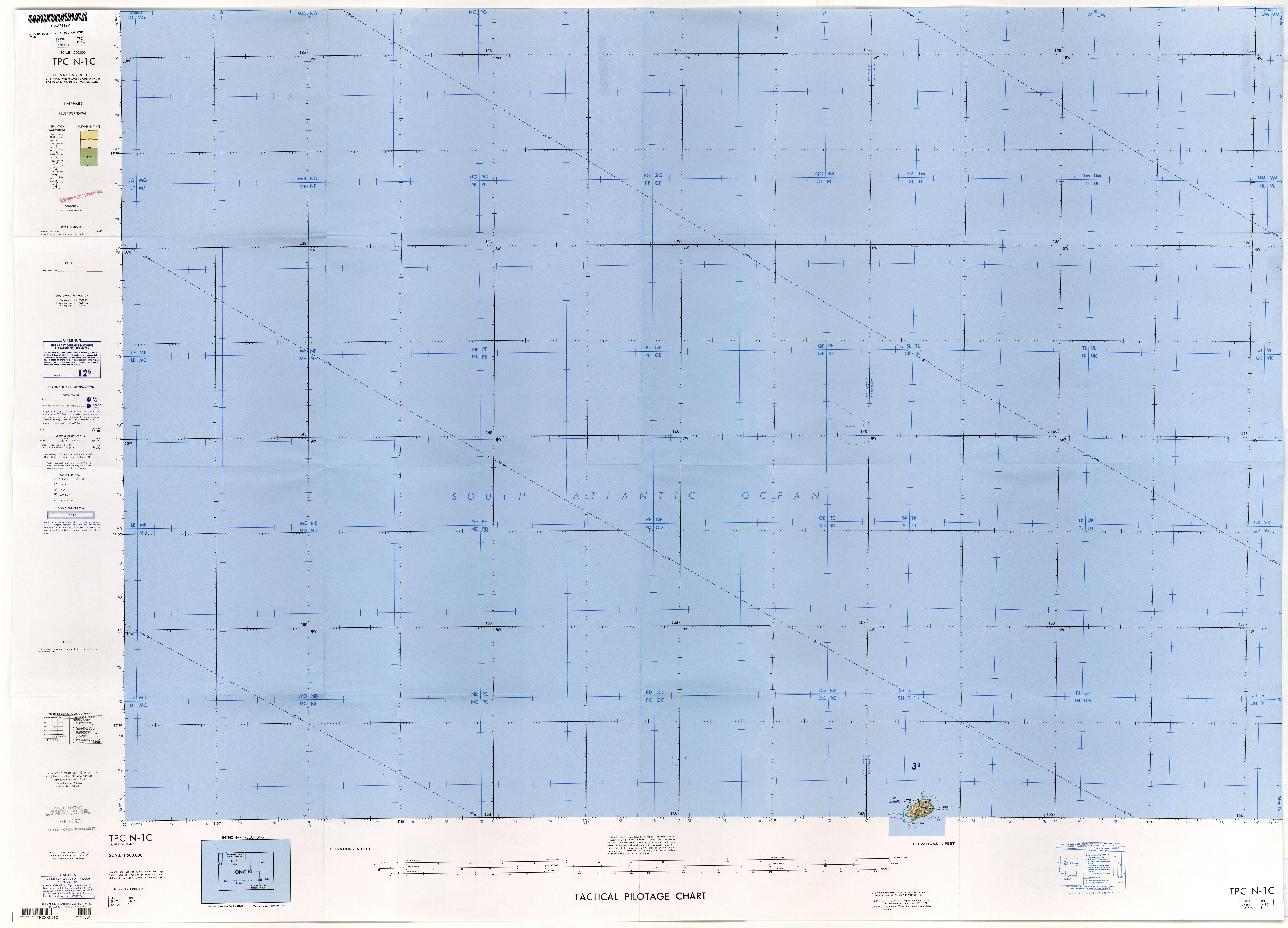 Tactical pilotage chart