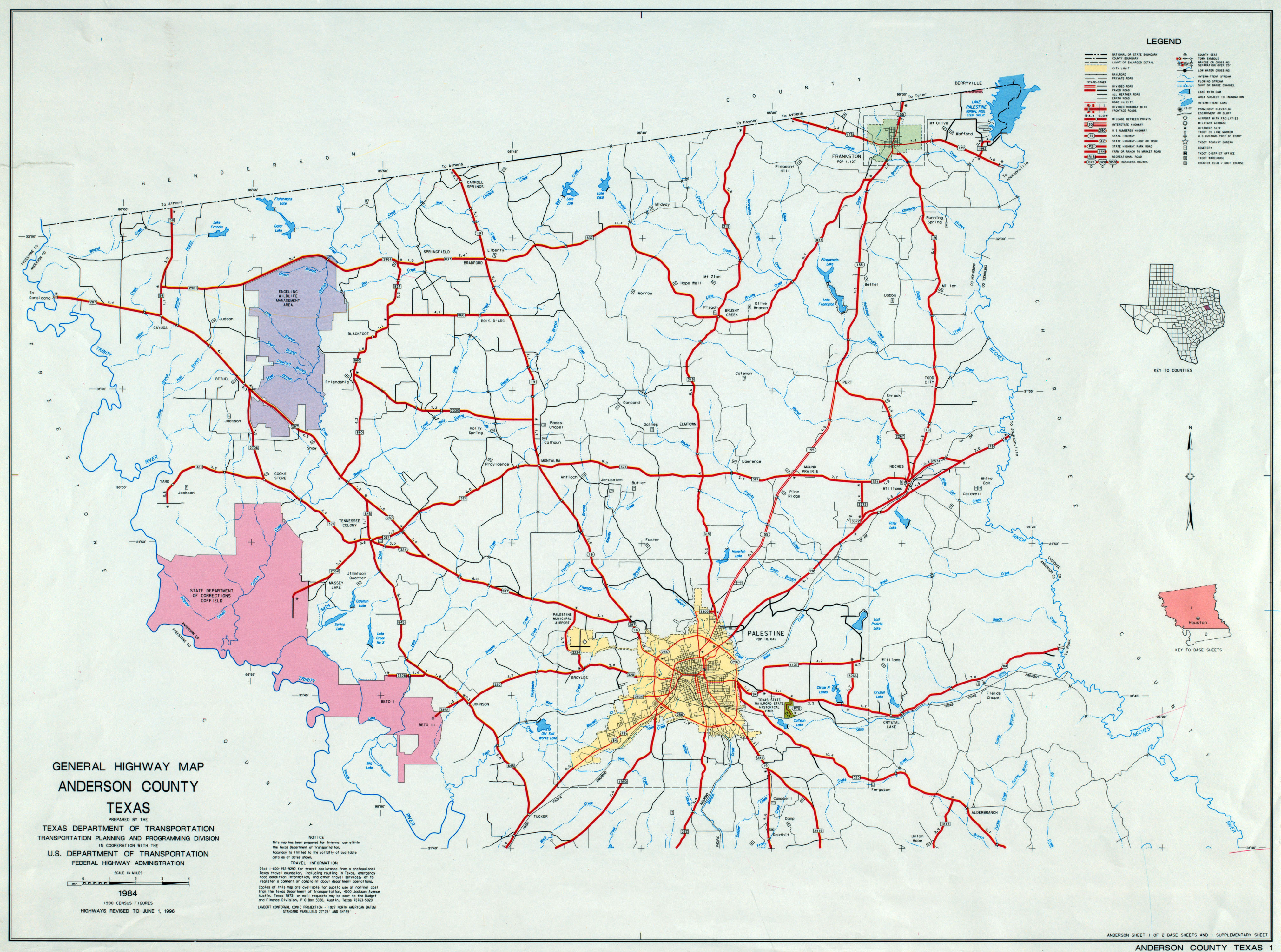 Texas County Highway Maps Browse PerryCastañeda Map Collection - Map of texas with counties