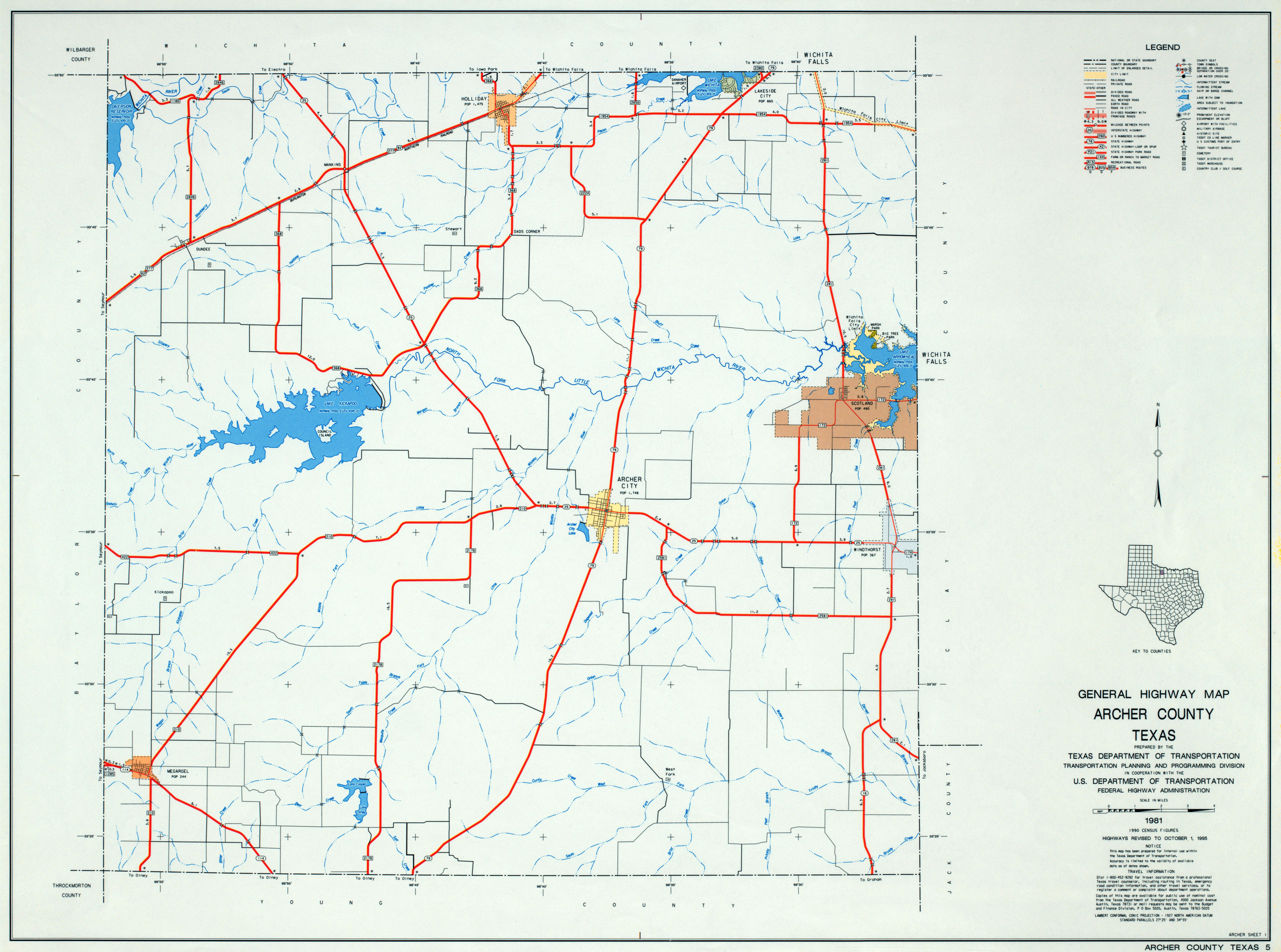 Texas County Highway Maps Browse Perry Castaneda Map