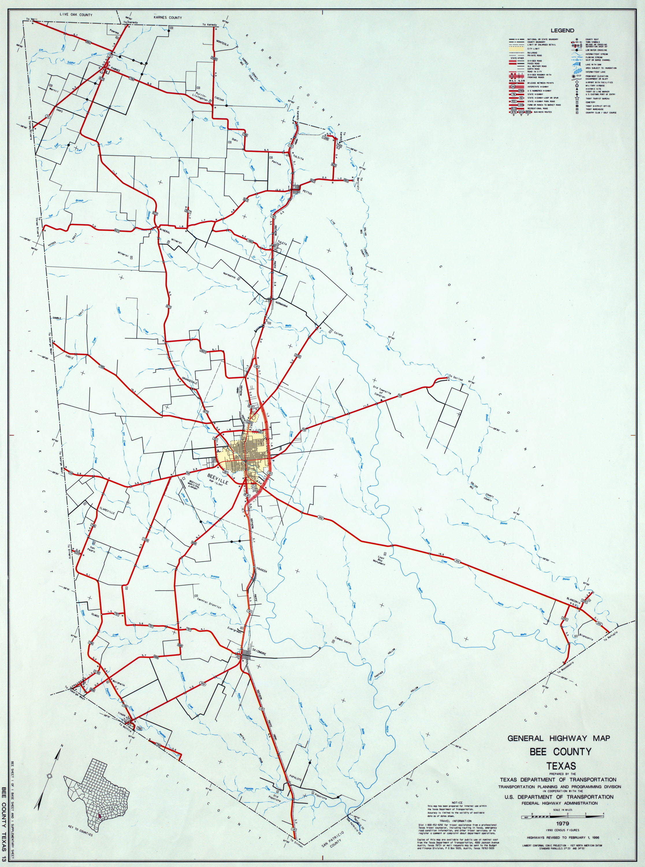 Texas County Highway Maps Browse PerryCastaeda Map Collection