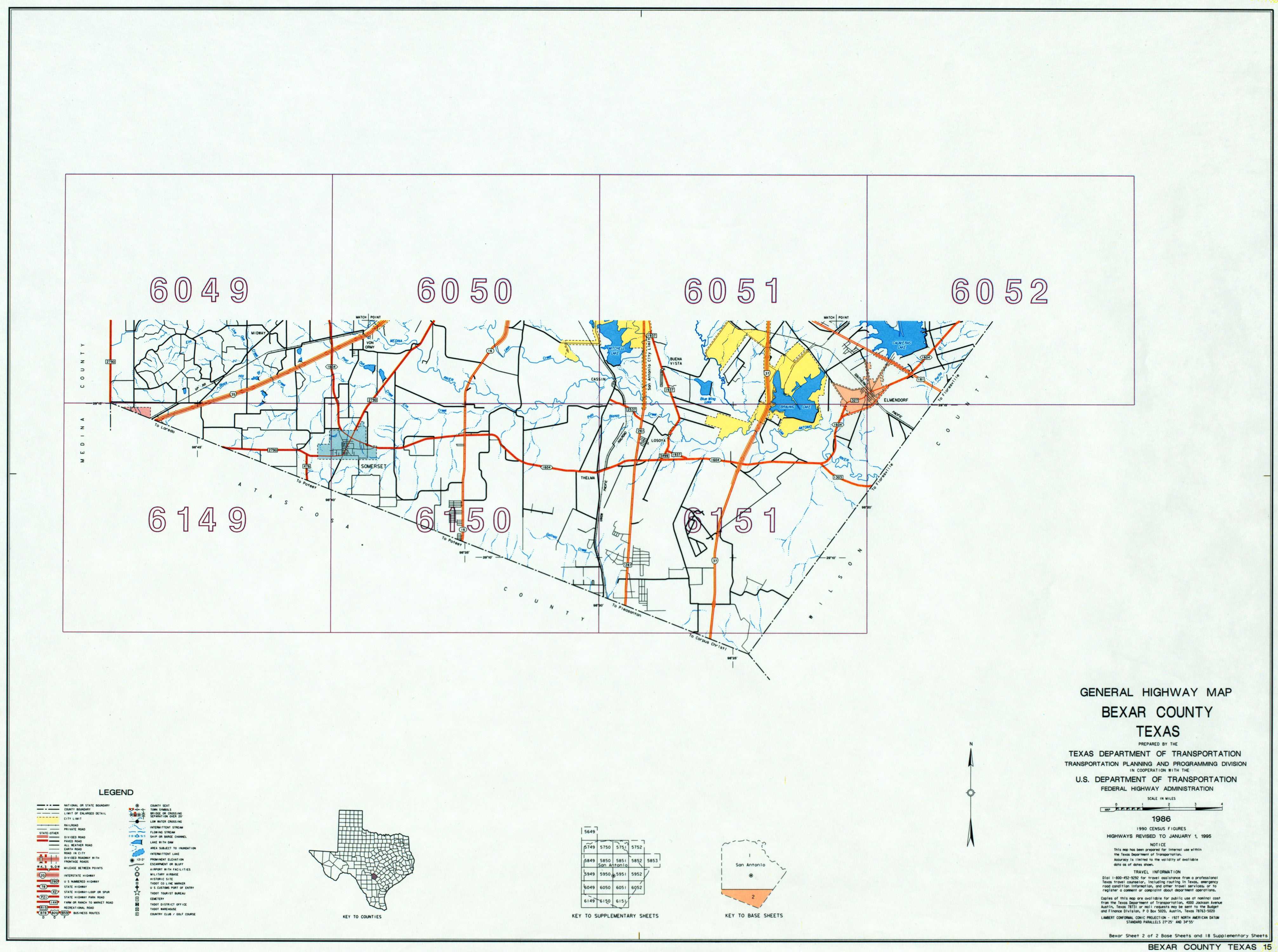 Texas County Highway Maps Browse Perry Castaeda Map Collection Jacinto 6 Block Diagram Bexar 15 Base Sheet 2