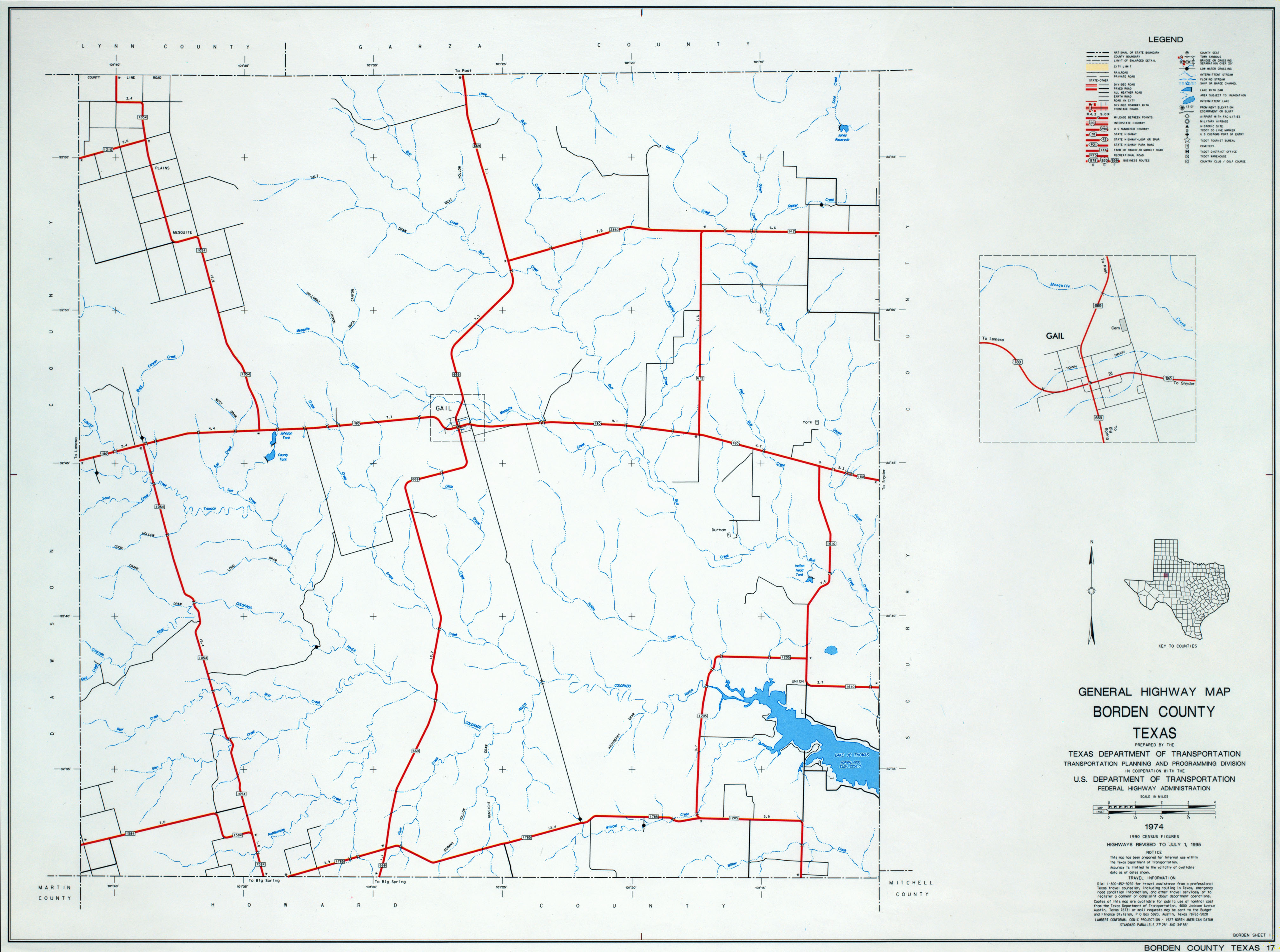 Texas County Highway Maps Browse - Perry-Castañeda Map Collection ...