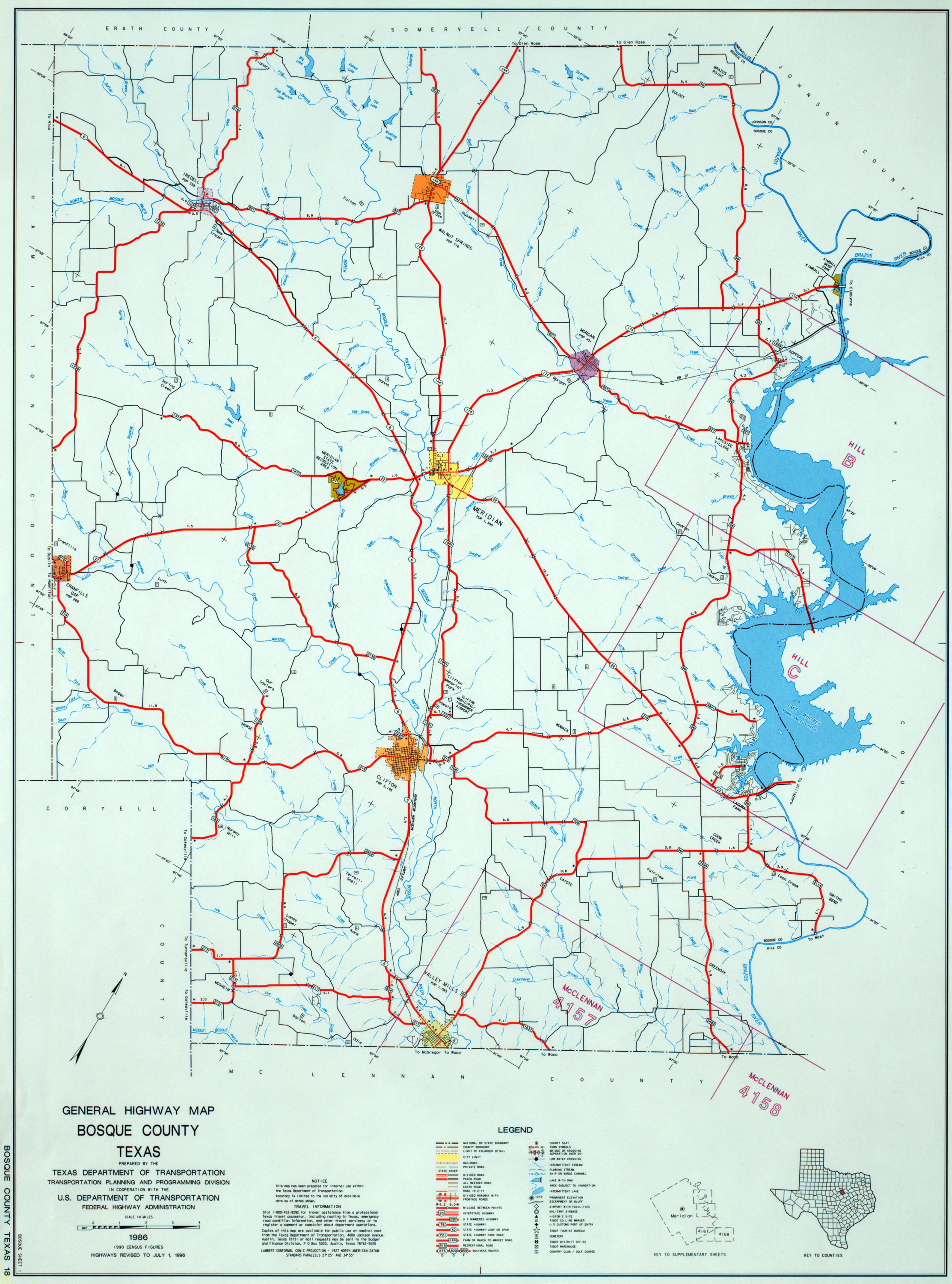 texas county highway maps browse perry castañeda map collection