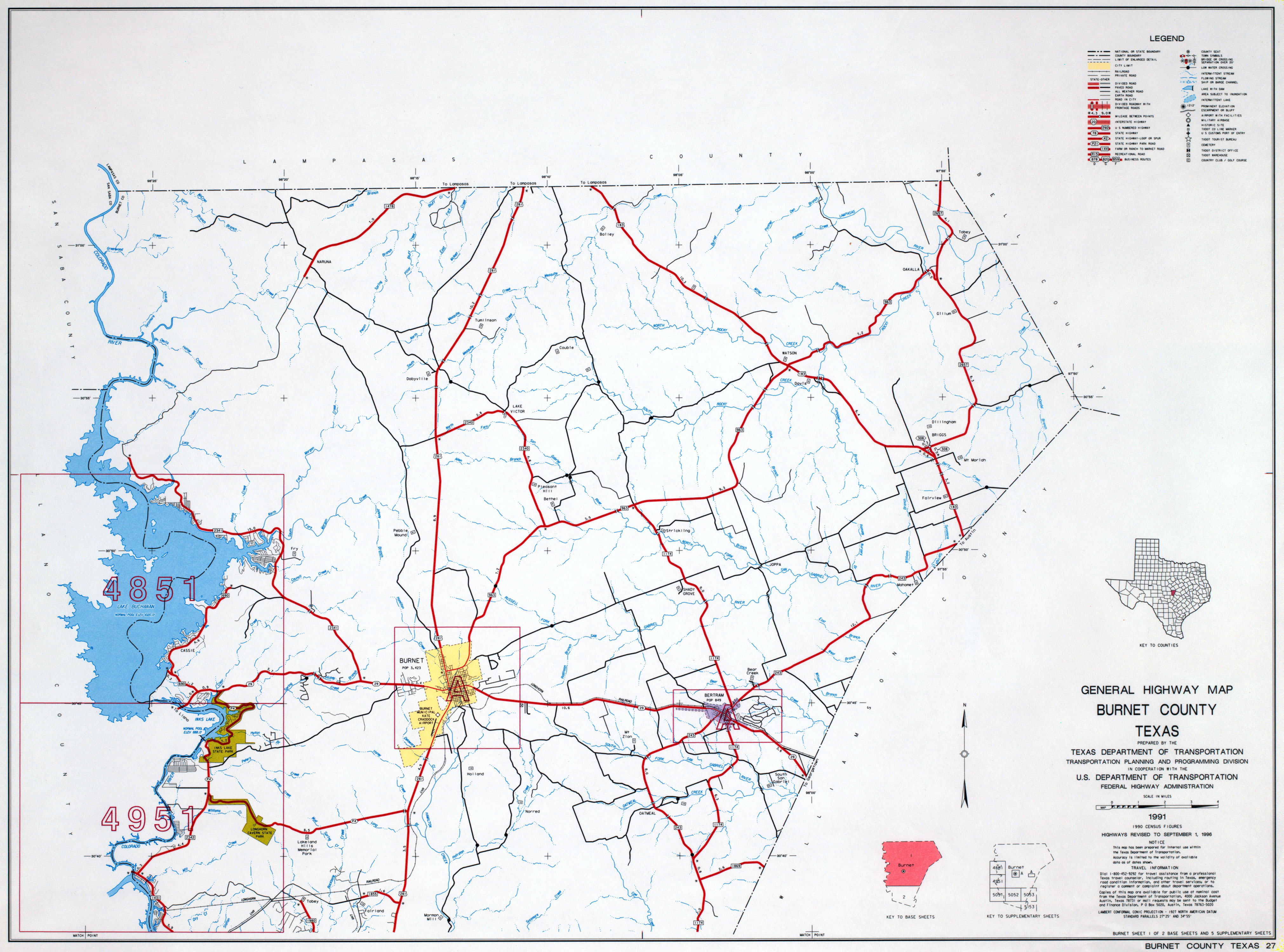 Texas County Highway Maps Browse PerryCastañeda Map Collection - Maps of texas counties