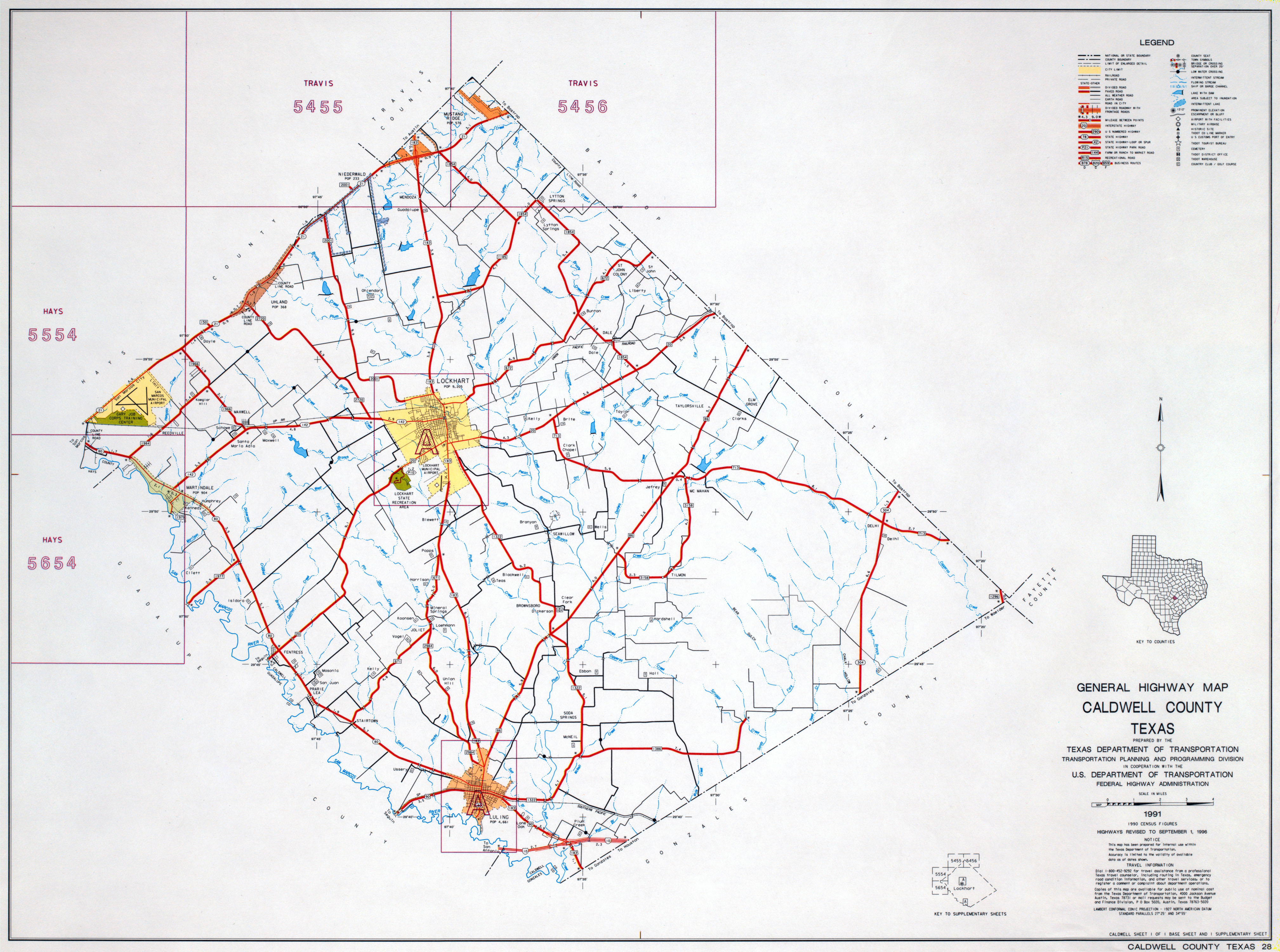 Texas County Highway Maps Browse PerryCastañeda Map Collection - Texas road map with counties
