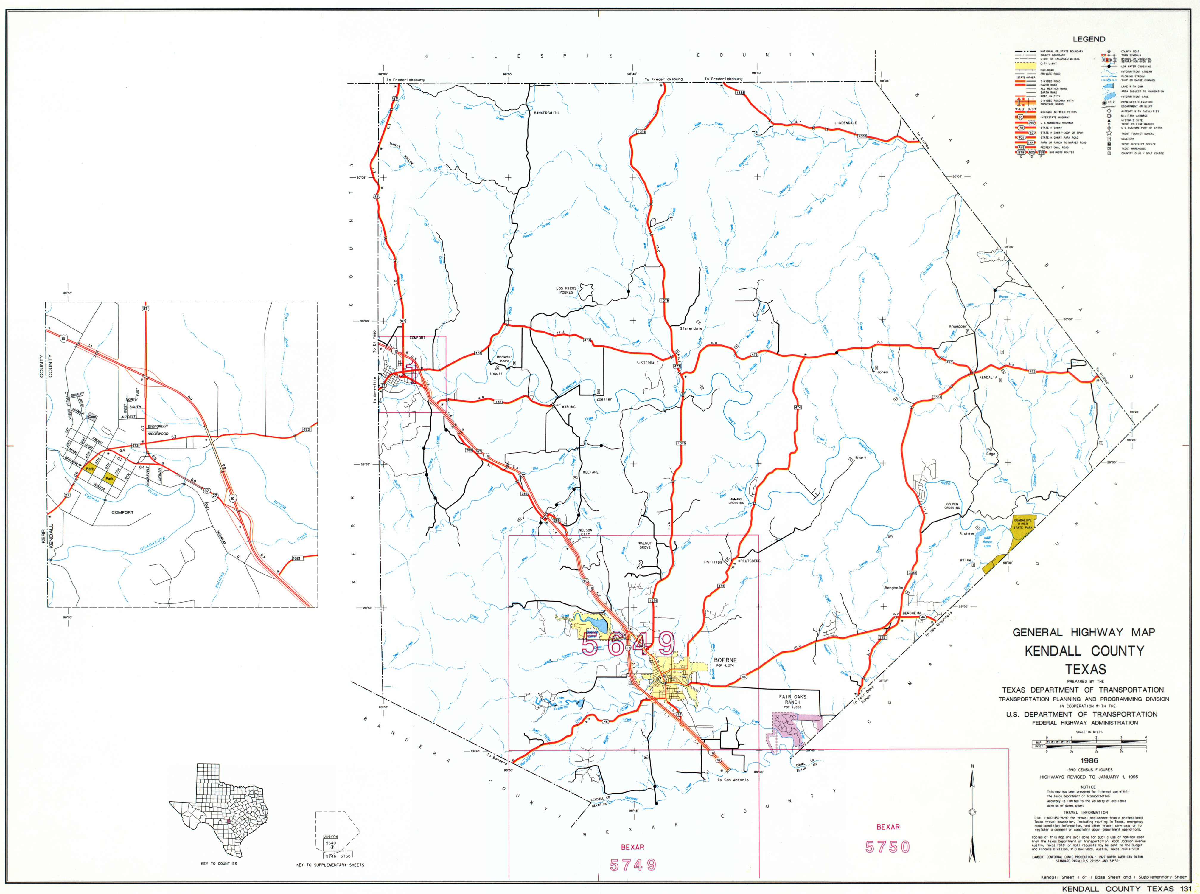 Kendall West Utility Boerne Texas Maps