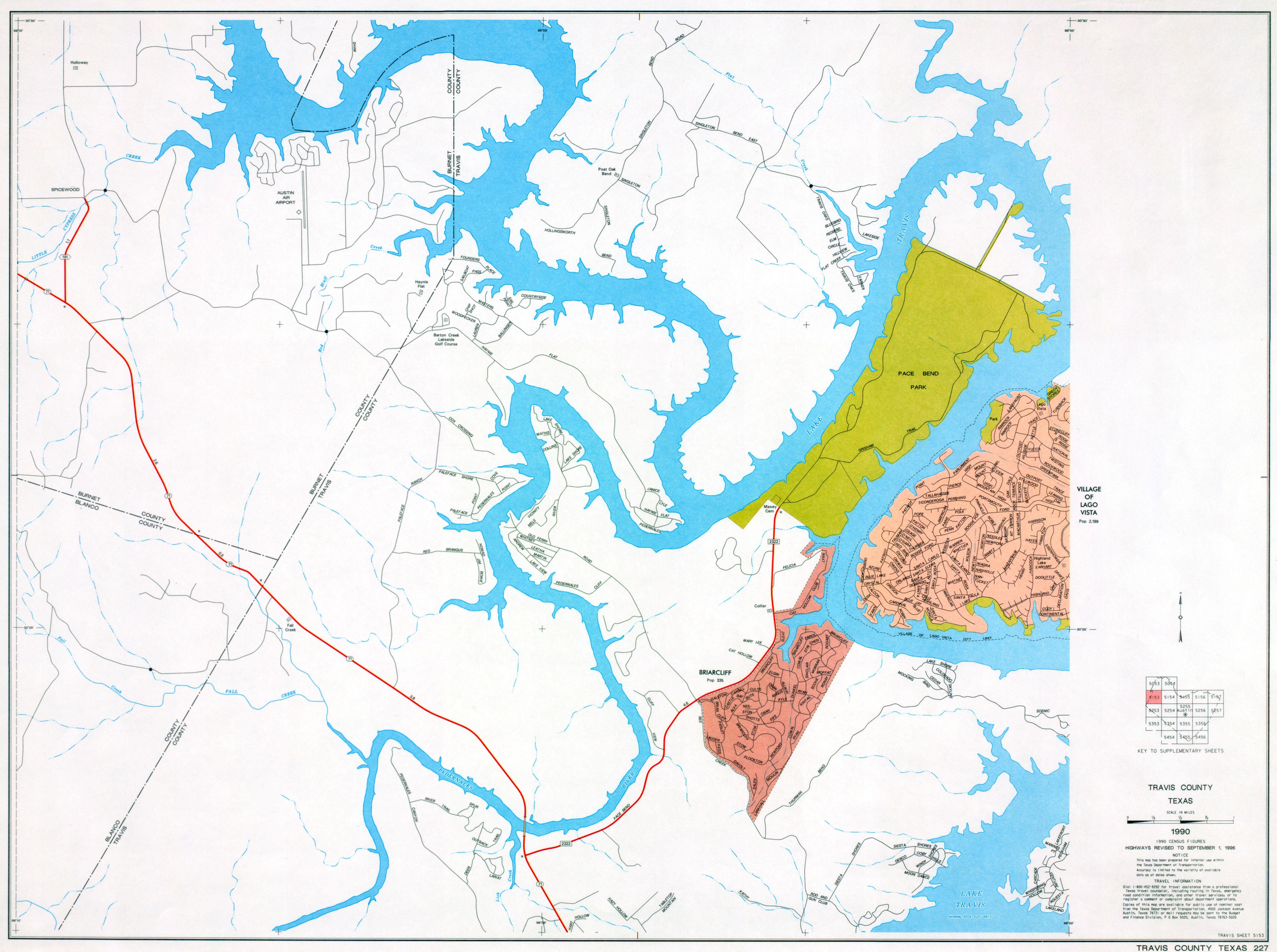 Austin Texas Maps  PerryCastaeda Map Collection  UT