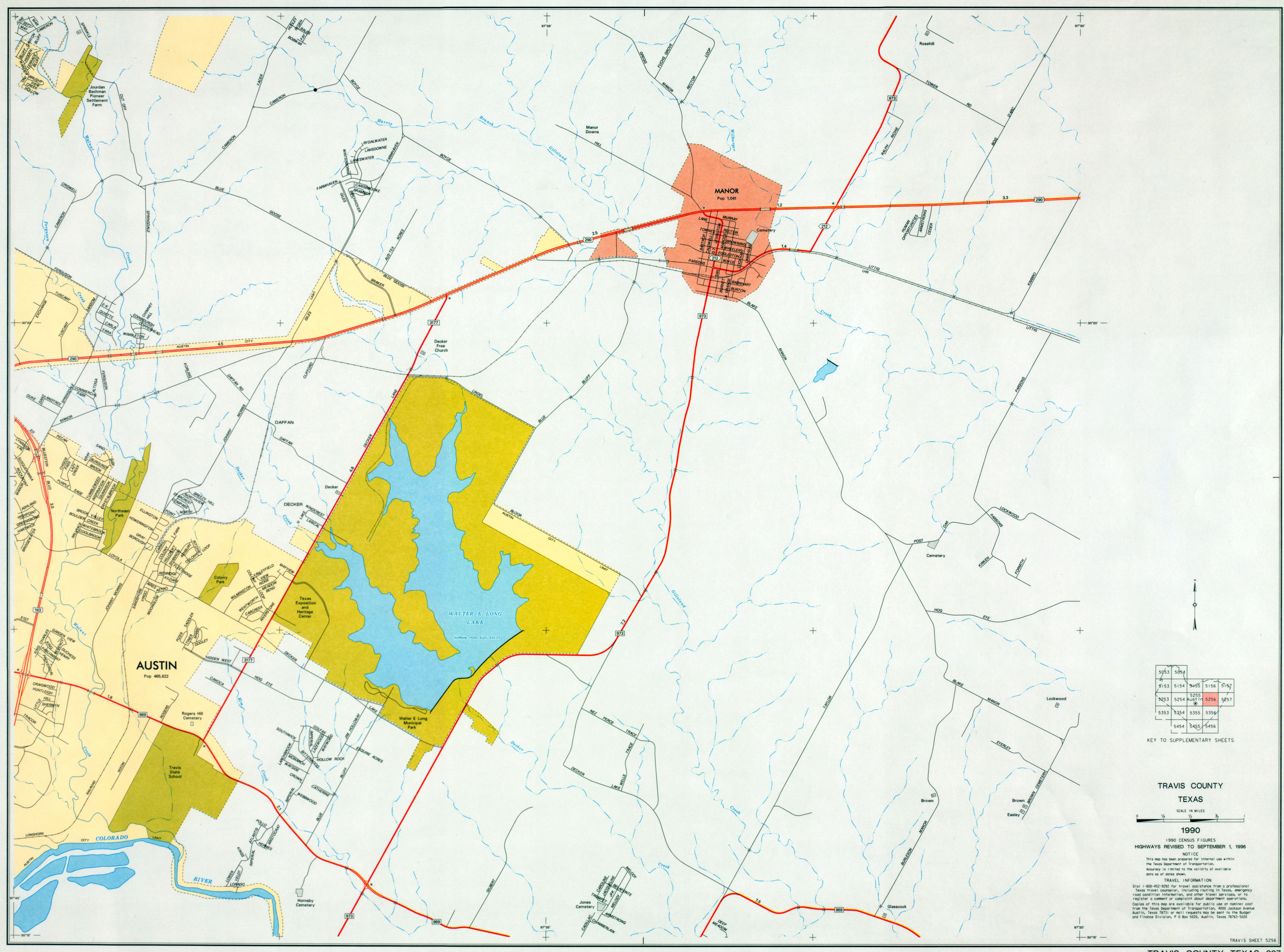 Austin texas maps perry castaeda map collection ut library online austin texas maps publicscrutiny Image collections