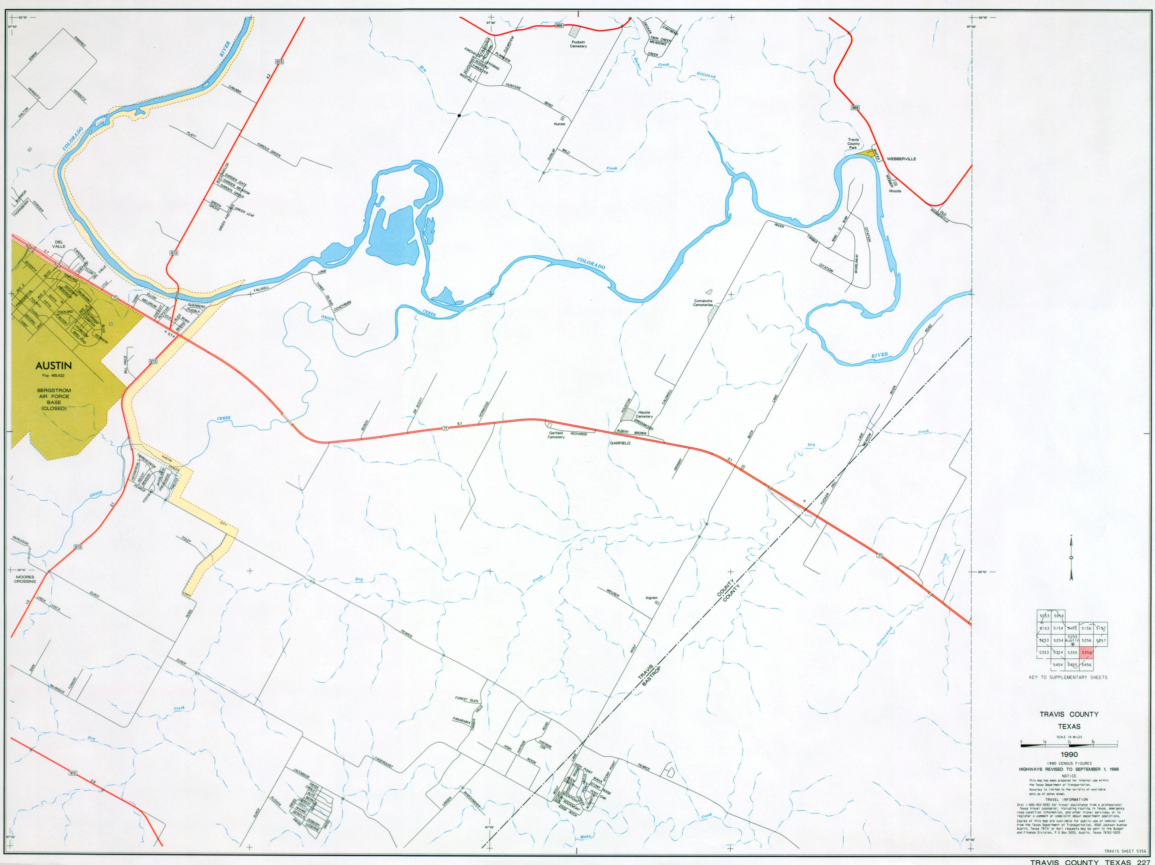 Austin Texas Maps PerryCastañeda Map Collection UT Library - Map of colorado river in texas