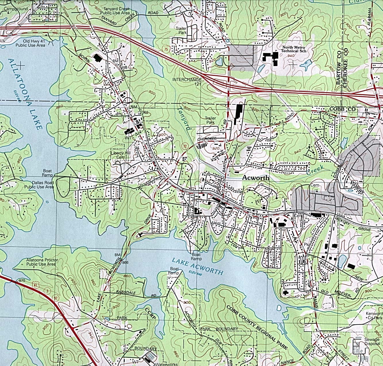 Georgia Maps PerryCastañeda Map Collection UT Library Online - Georgia highway map