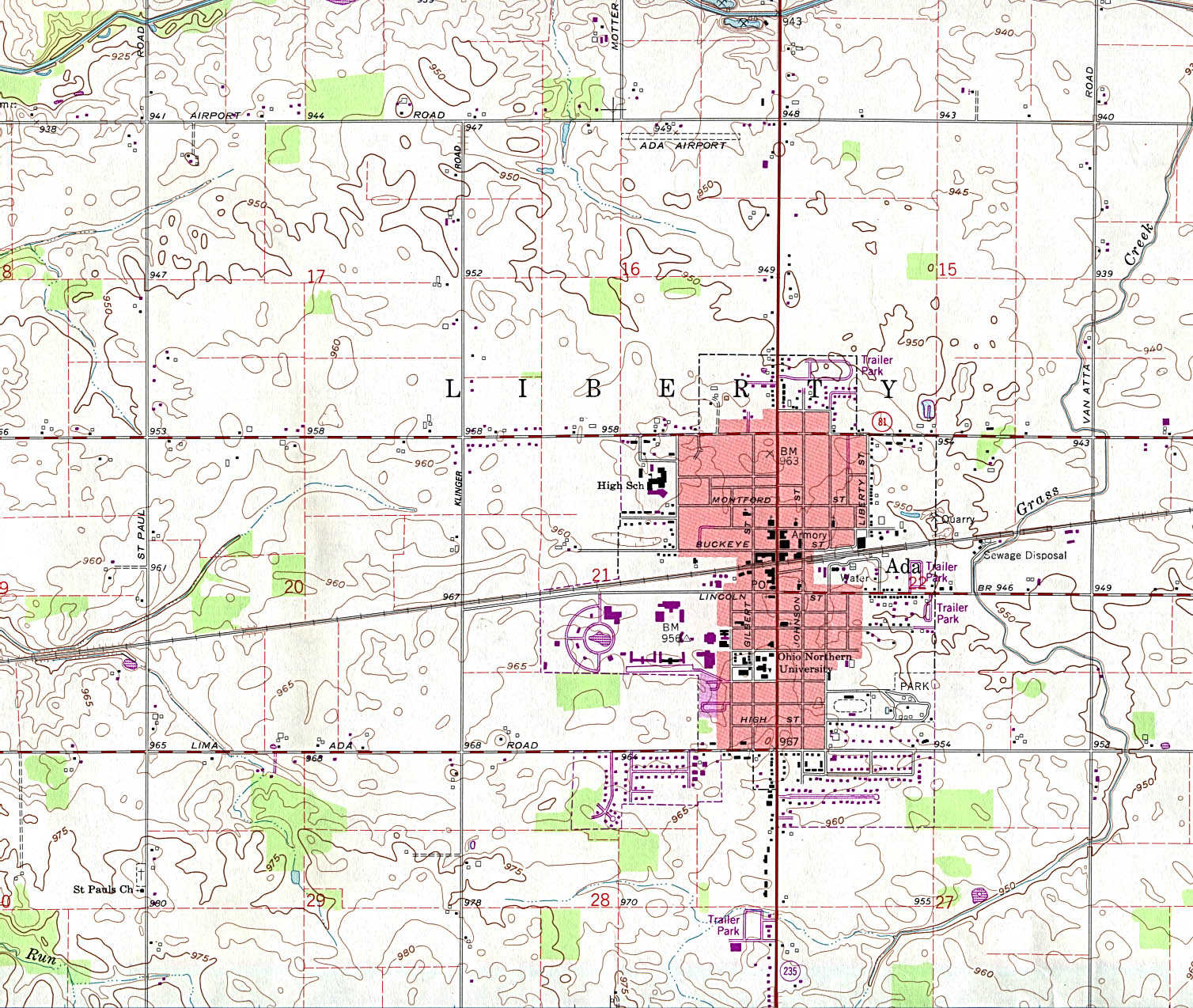 Ohio Maps PerryCastañeda Map Collection UT Library Online - Ohio maps