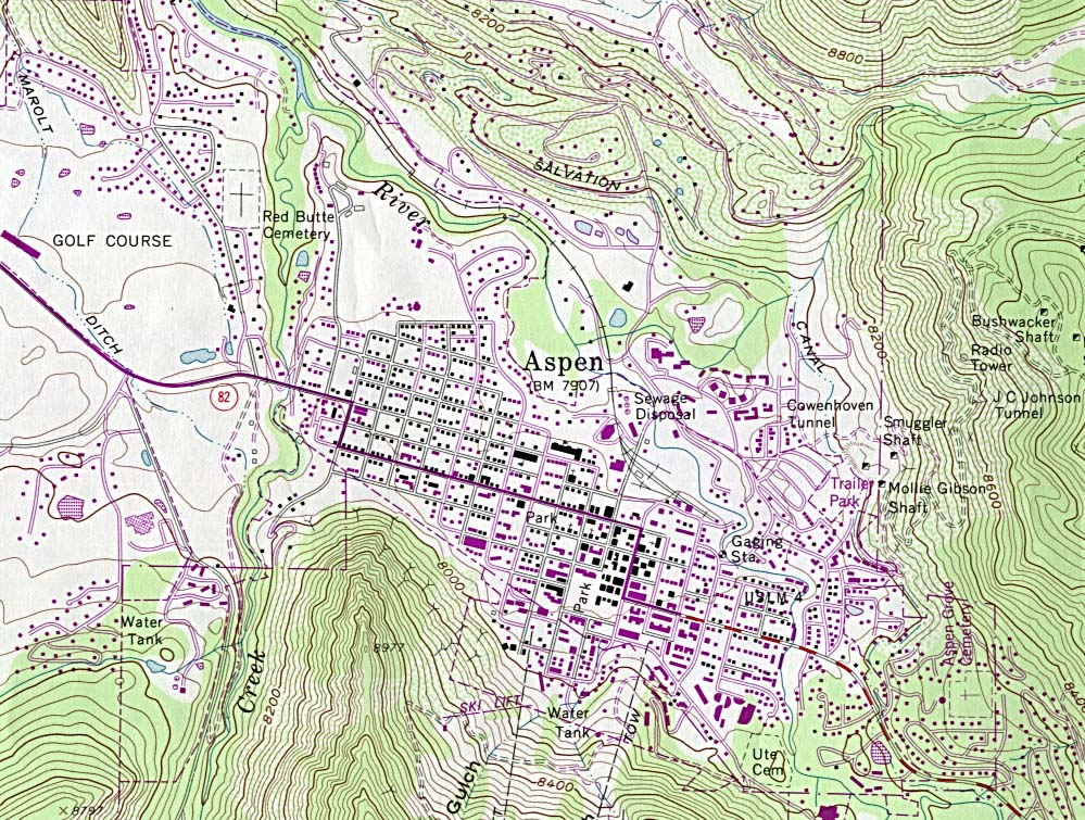Topographic Map Colorado Springs.Colorado Maps Perry Castaneda Map Collection Ut Library Online
