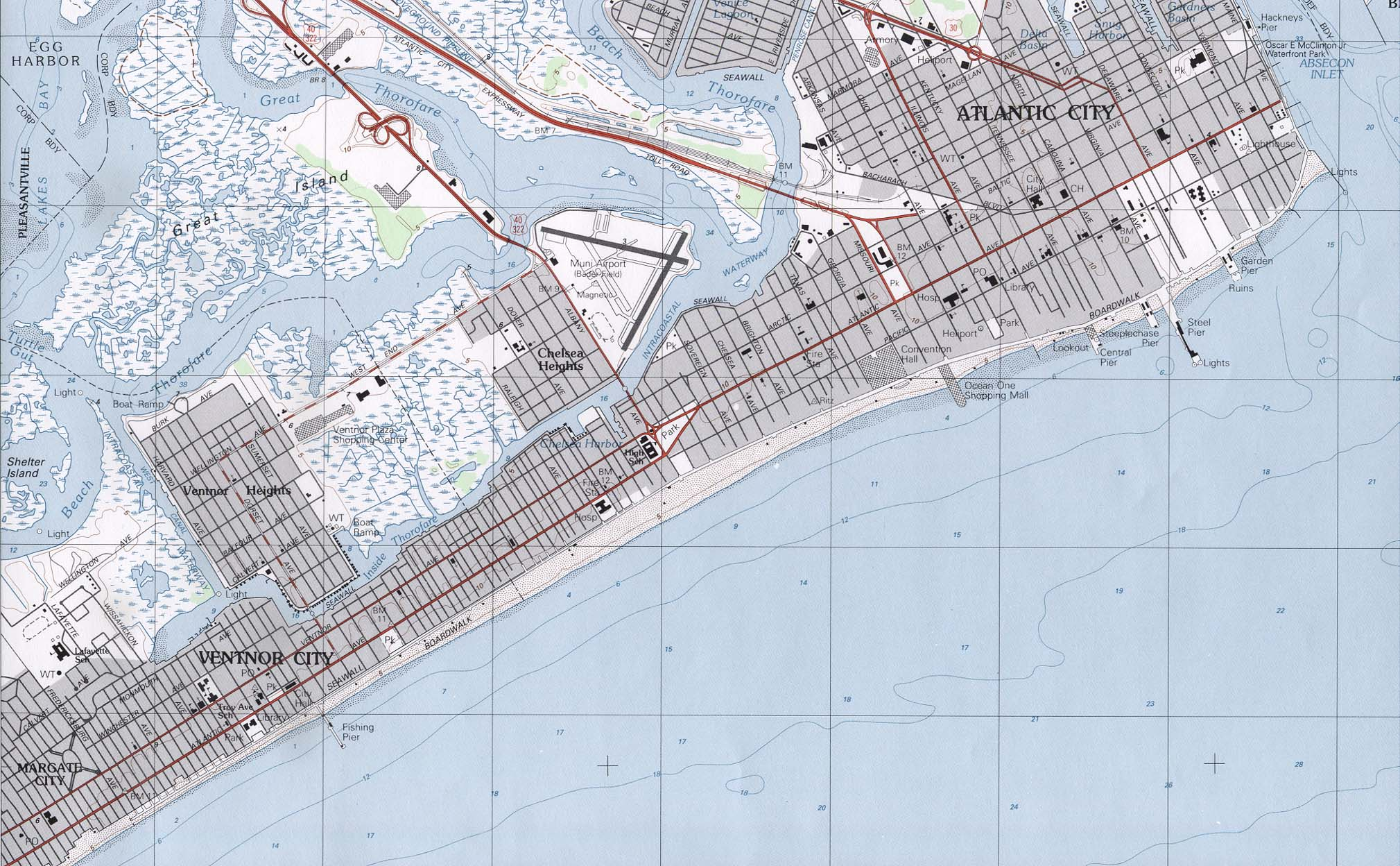 Map Of New Jersey A Source For All Kinds Of Maps Of New Jersey - Nj road map