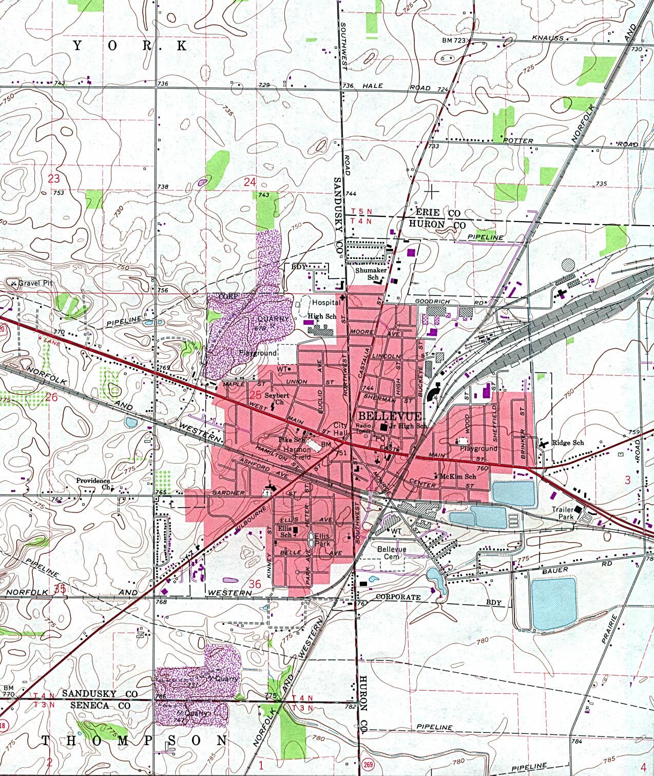 Columbus Tx City Limits