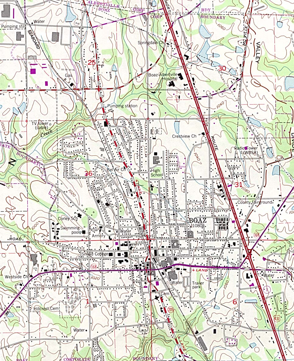 Alabama Maps PerryCastañeda Map Collection UT Library Online - Road map of alabama