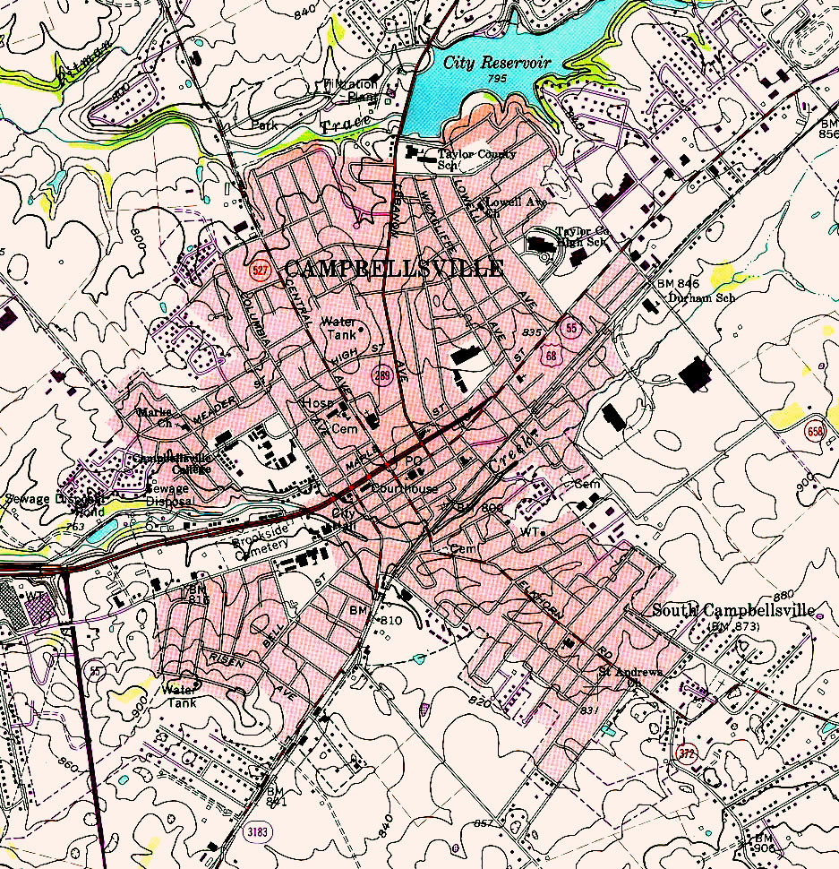 Kentucky Maps PerryCastañeda Map Collection UT Library Online - Ky map