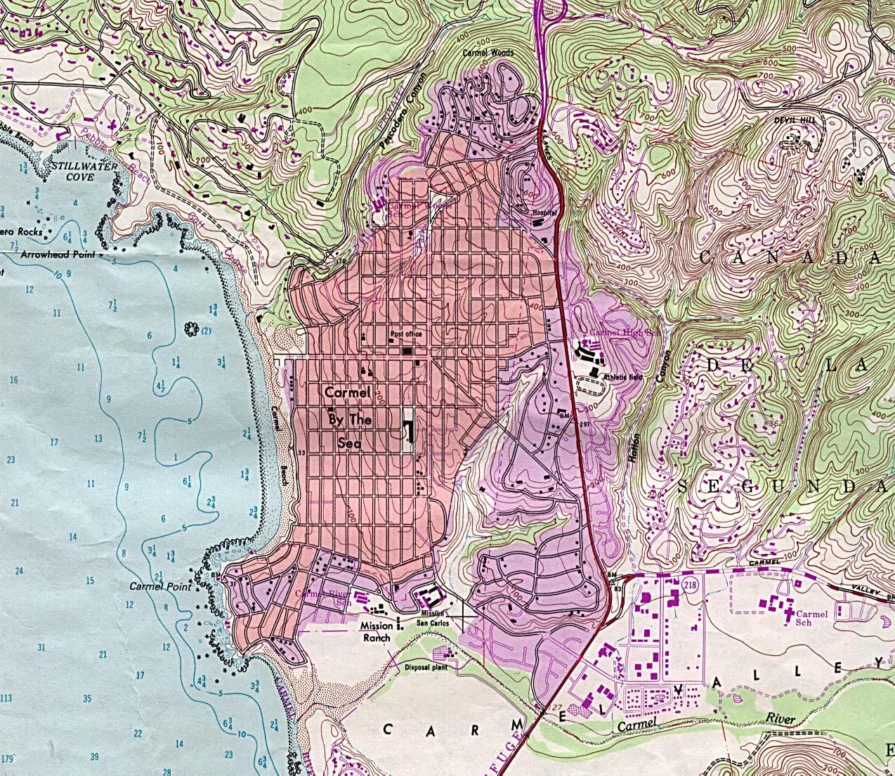 Carmel Village Beaches Carmel California Camping Big Sur