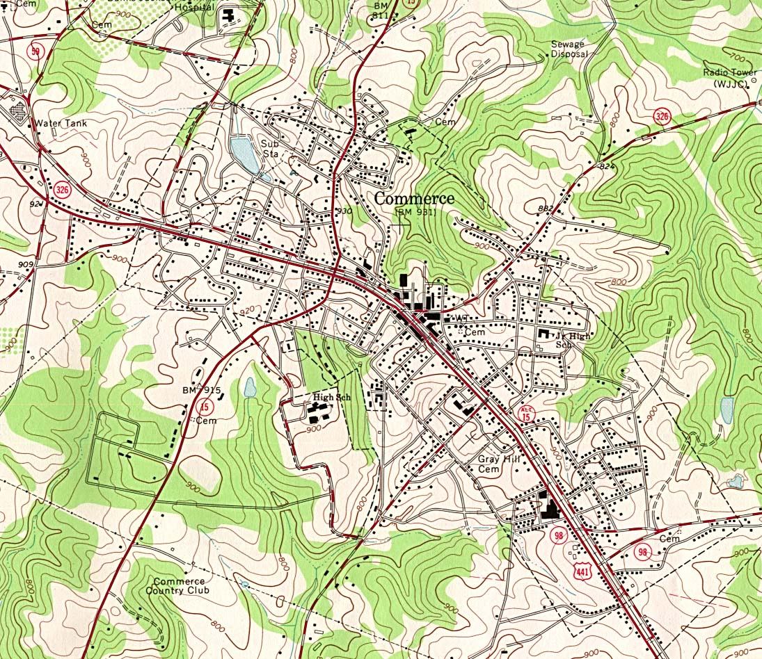 Georgia Maps   Perry Castañeda Map Collection   UT Library Online