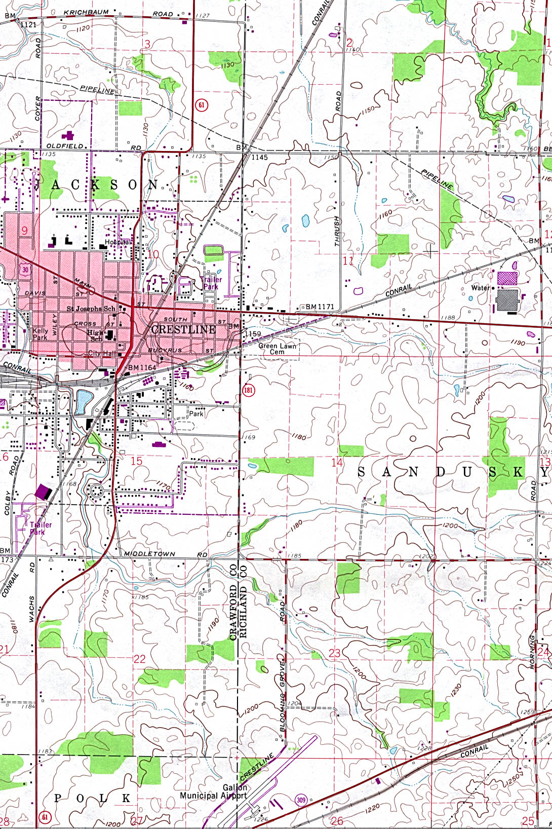 Ohio Maps   Perry Castañeda Map Collection   UT Library Online